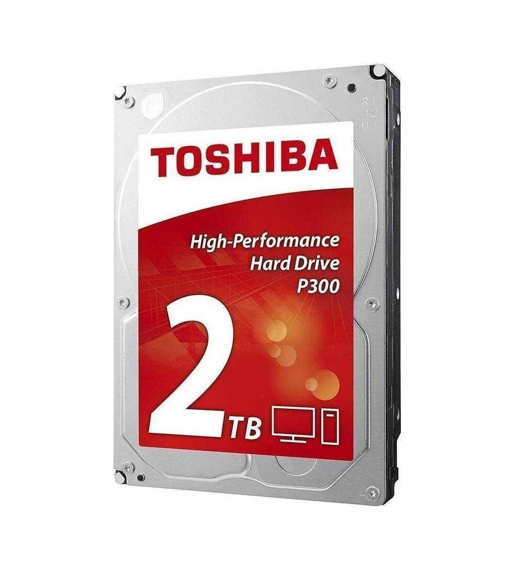 Toshiba P300 Bulk 2TB HDWD120UZSVA Σκληρός Δίσκος 3.5'' Sata 3