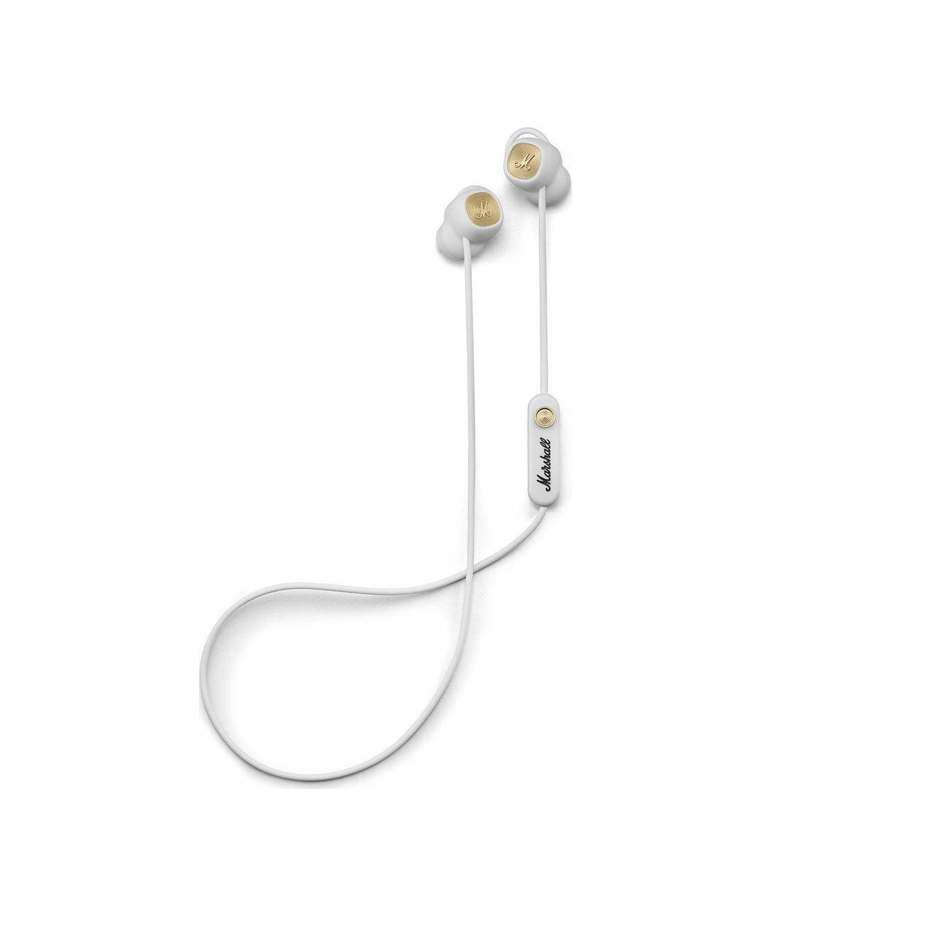 Marshall Minor II Bluetooth Ακουστικά Handsfree White/Gold