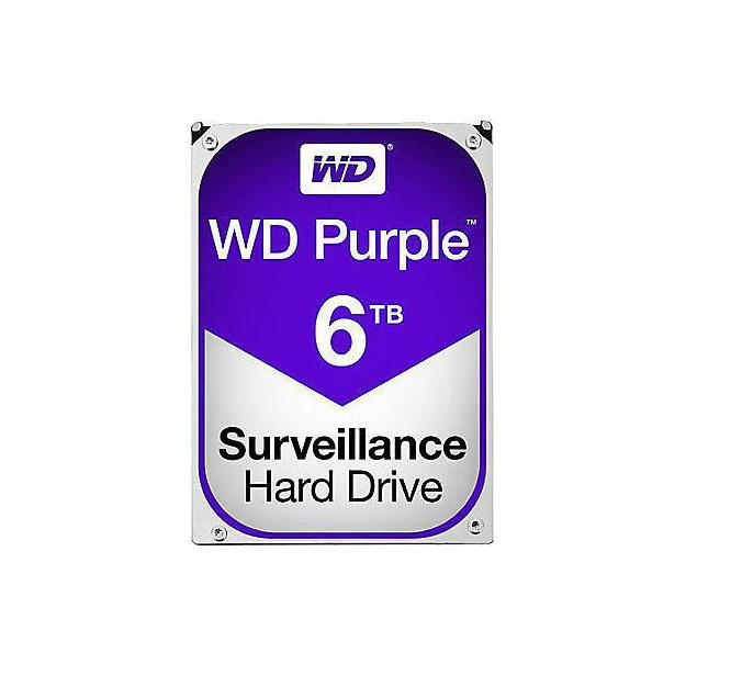 Western Digital Purple HDD 6TB WD60PURZ Σκληρός Δίσκος* 3.5'' Sata 3