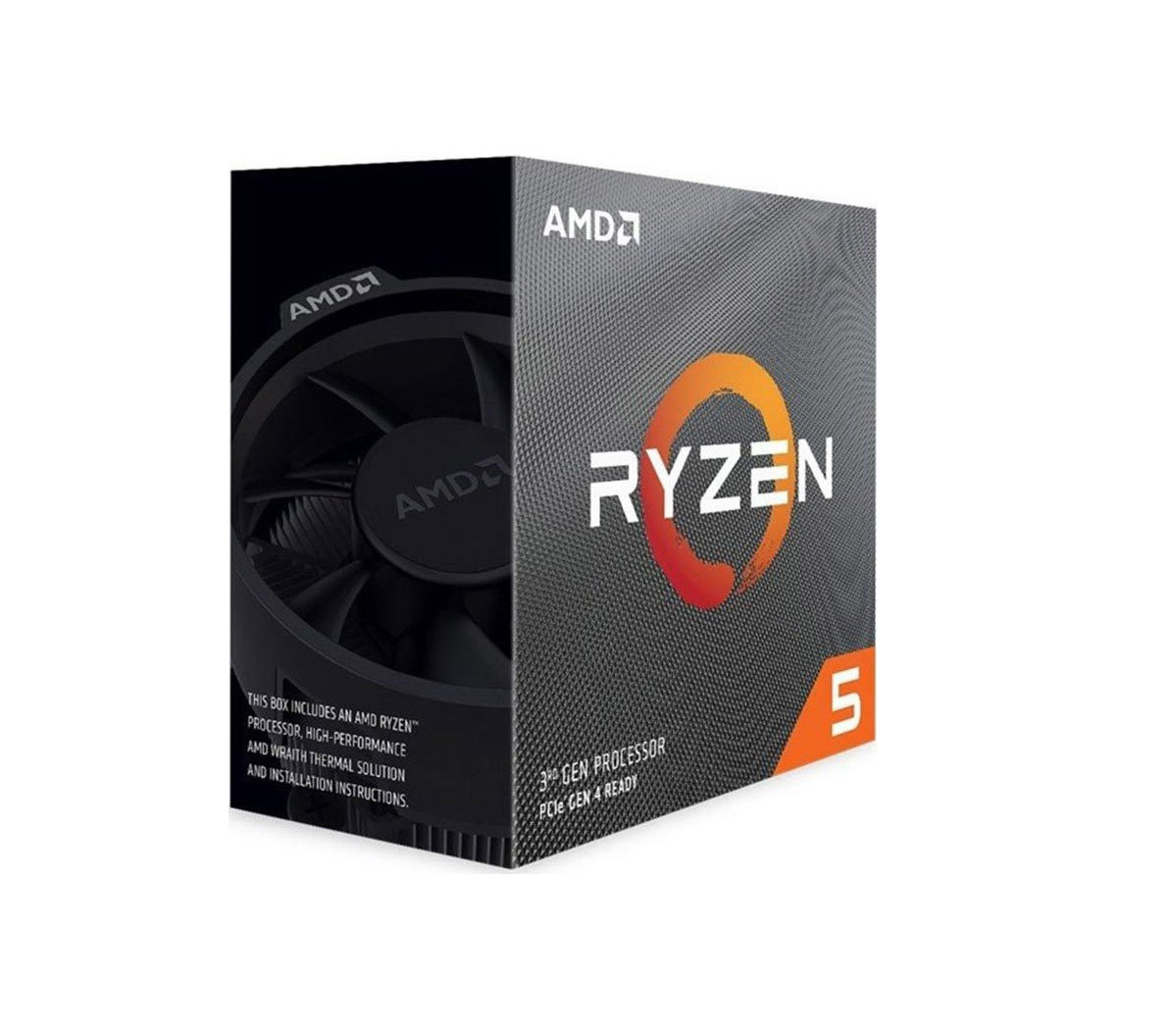 AMD Ryzen 5 3600 Box Επεξεργαστής Πληρωμή έως 24 δόσεις*