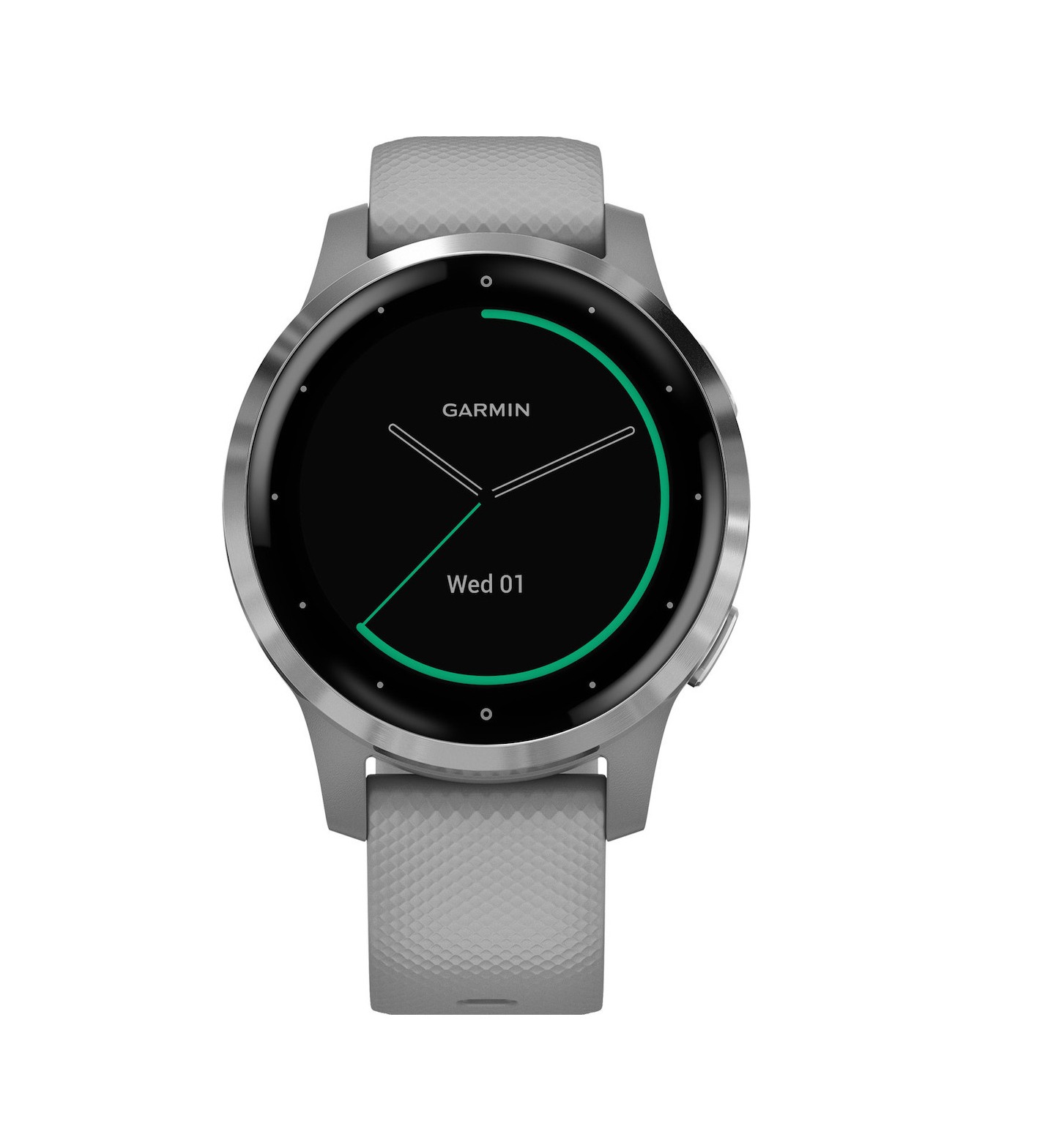 Garmin Vivoactive 4S Powder Gray/Silver 010-02172-02 Πληρωμή έως 24 δόσεις