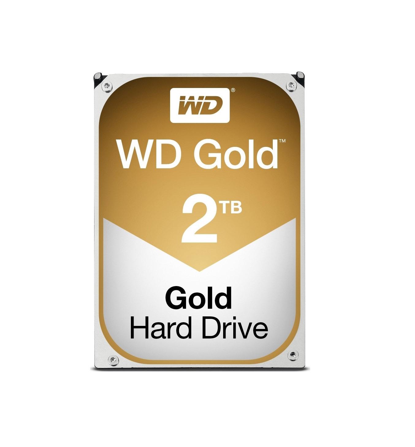 Western Digital Gold 2TB WD2005FBYZ Σκληρός Δίσκος Sata 3