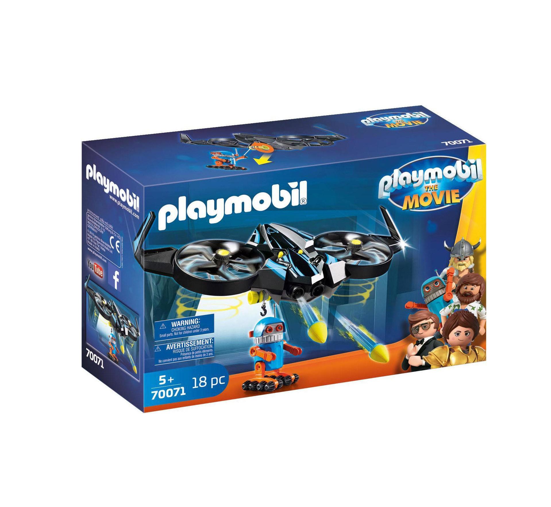 Playmobil The Movie: Robotitron with Drone 70071