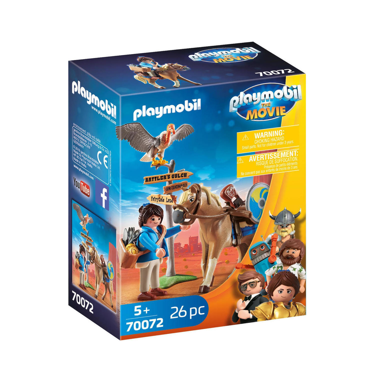 Playmobil The Movie: Marla with Horse 70072