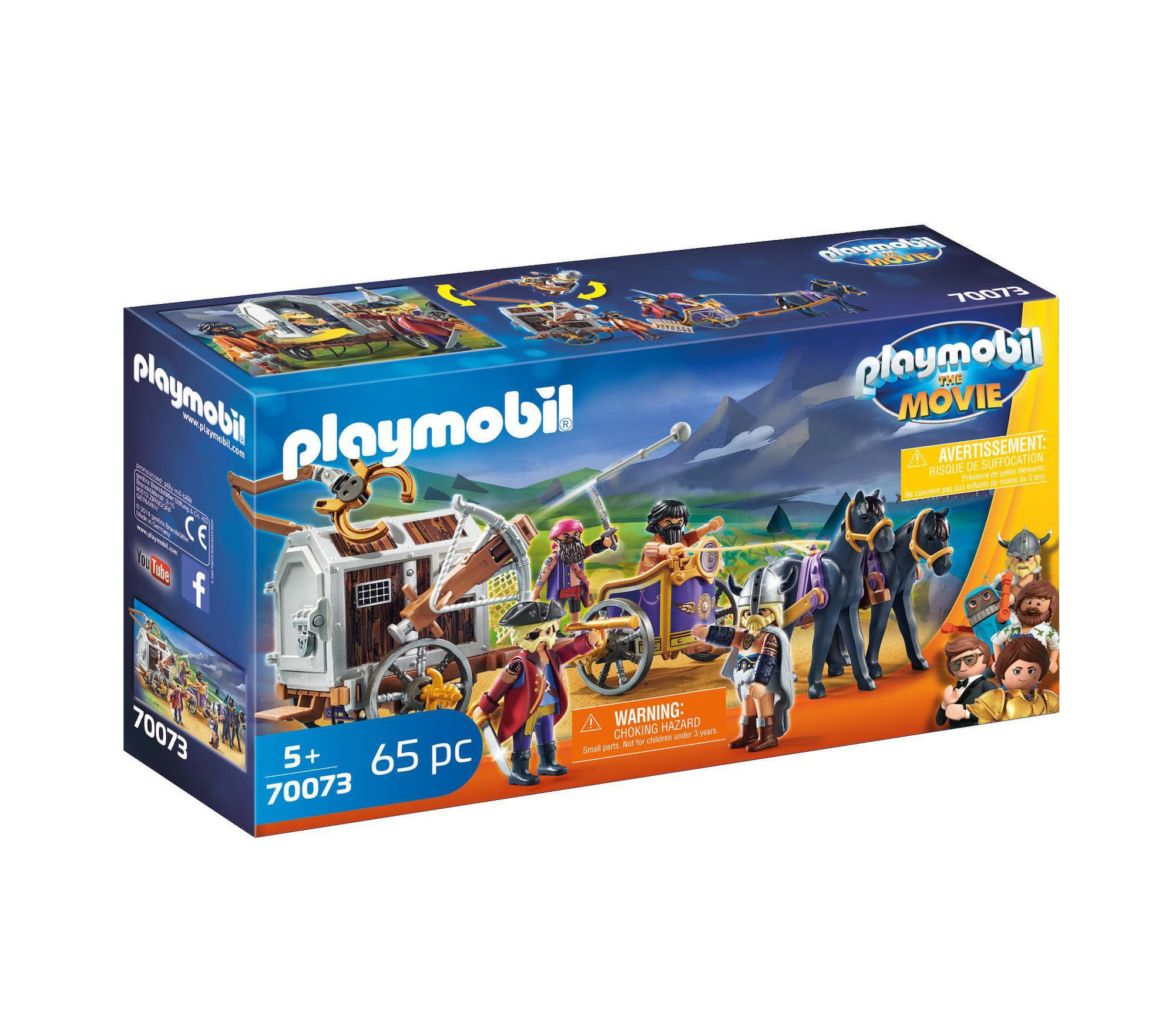 Playmobil The Movie: Charlie with Prison Wagon 70073