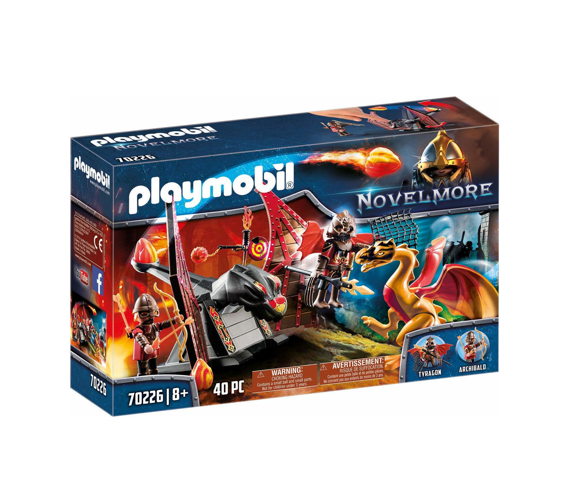 Playmobil Novel More: Combat Training of the Dragon 70226