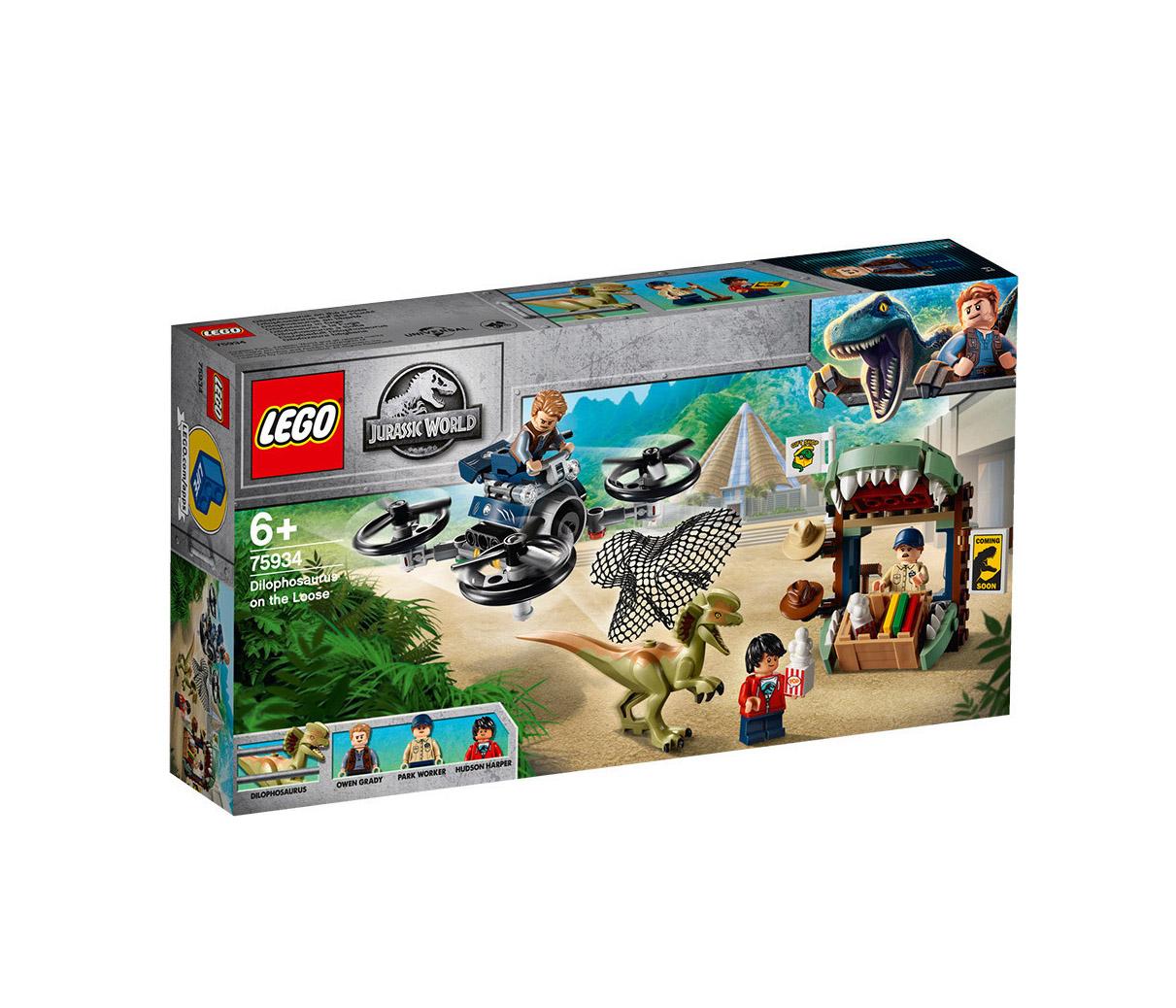 Lego Jurassic World: Dilophosaurus On The Loose 75934