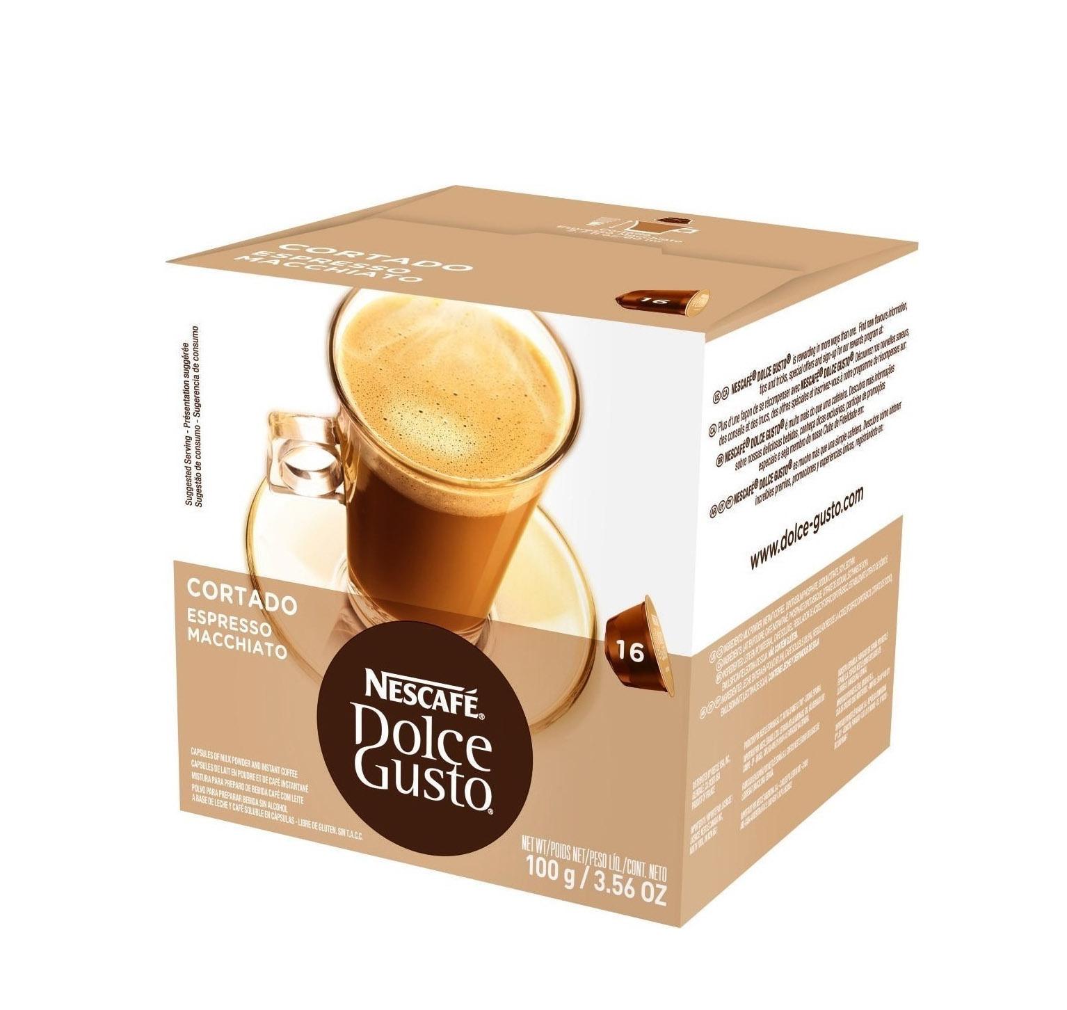 Nescafe Dolce Gusto Cortado  16caps 12122140