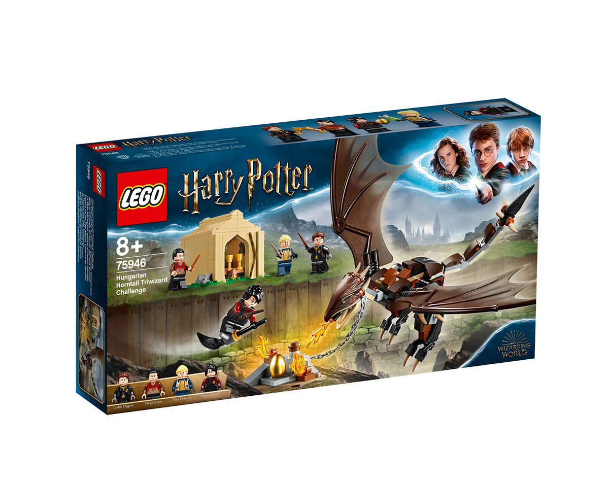 Lego Harry Potter: Hungarian Horntail Triwizard Challenge 75946