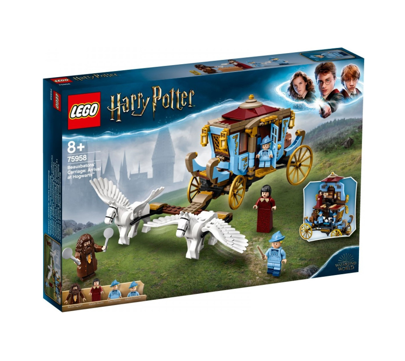 Lego Harry Potter: Beauxbatons' Carriage Arrival at Hogwarts 75958