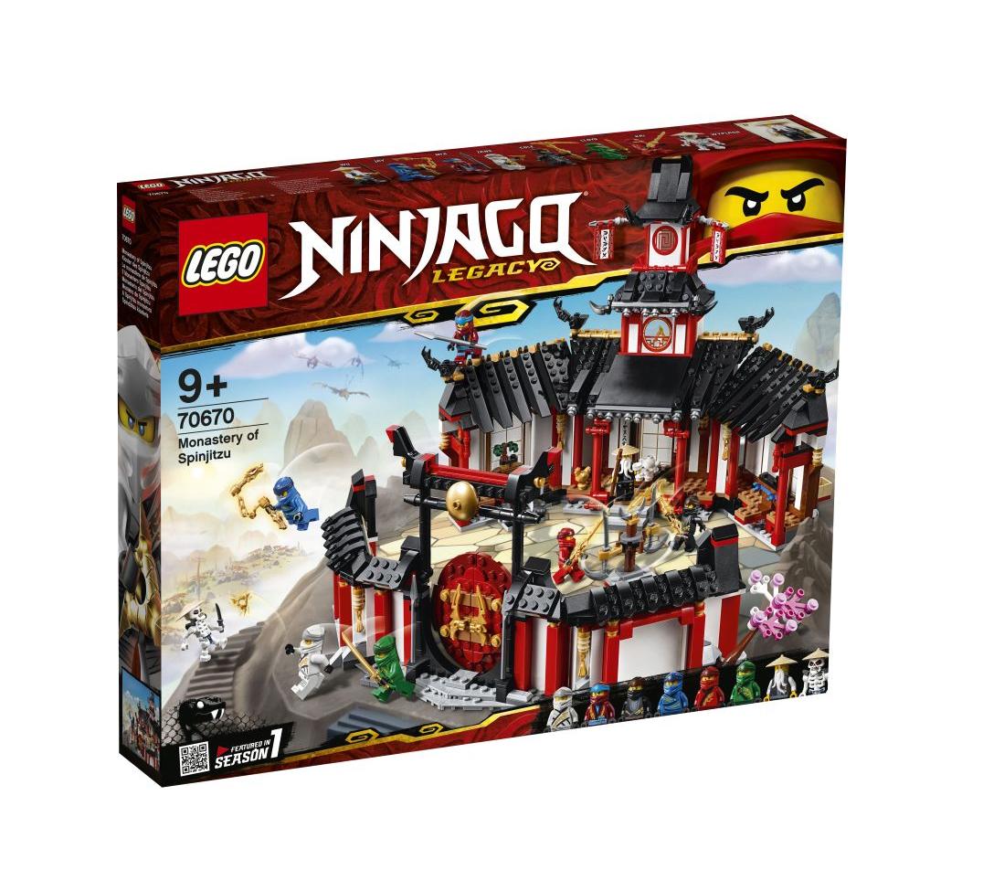 Lego Ninjago: Monastery Spinjitzu 70670