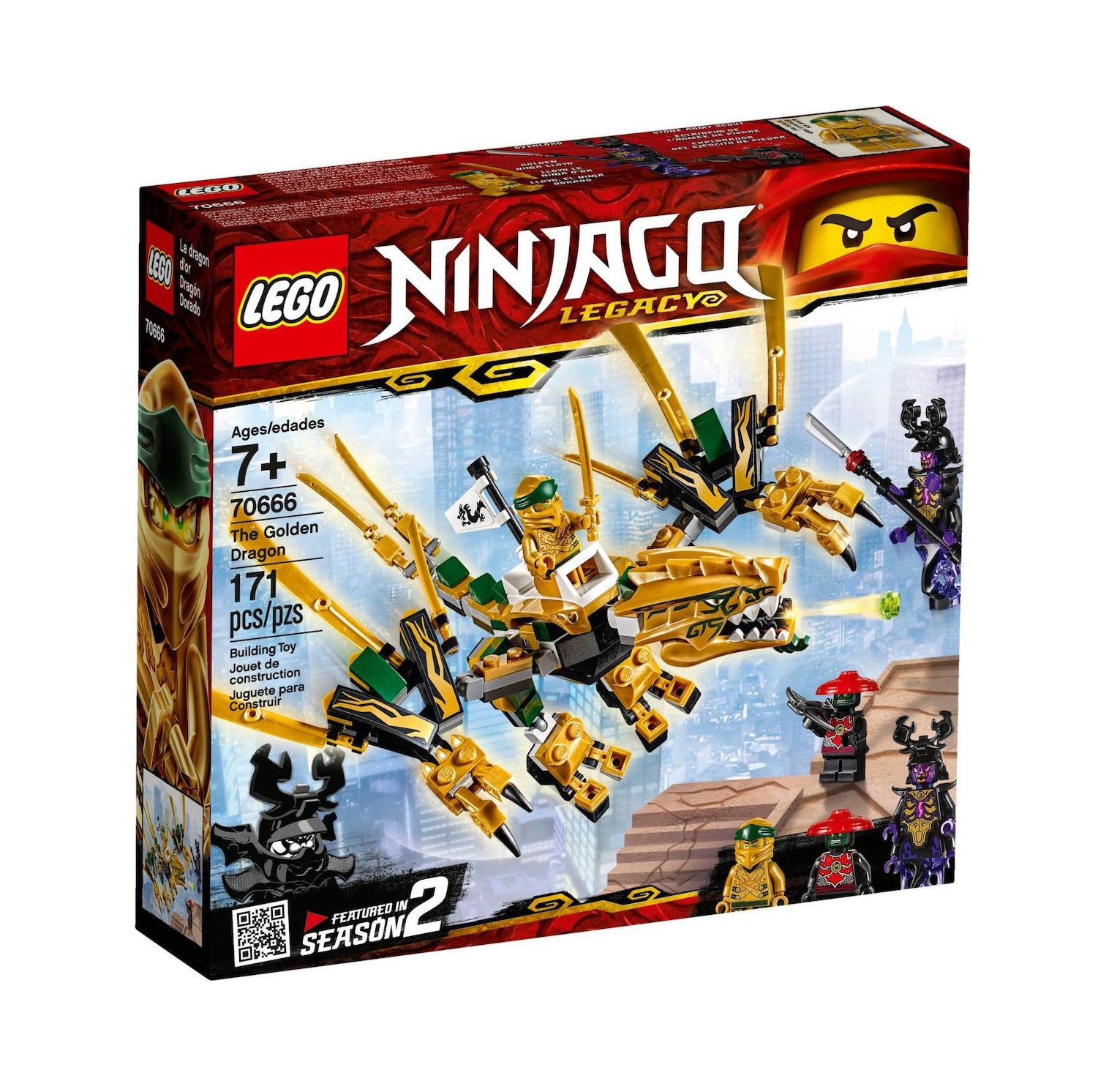 Lego Ninjago: The Golden Dragon 70666