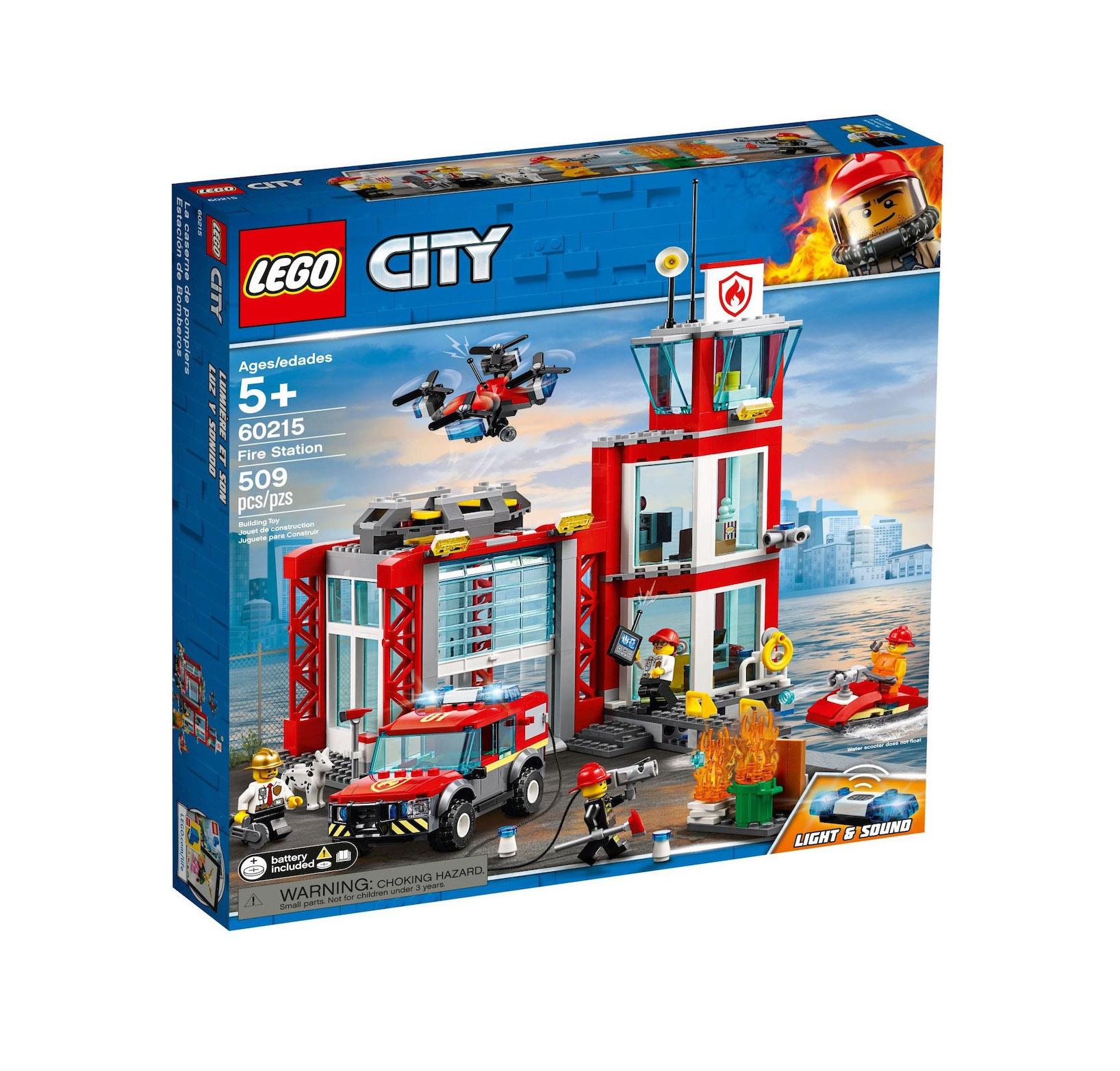 Lego City: Fire Station 60215