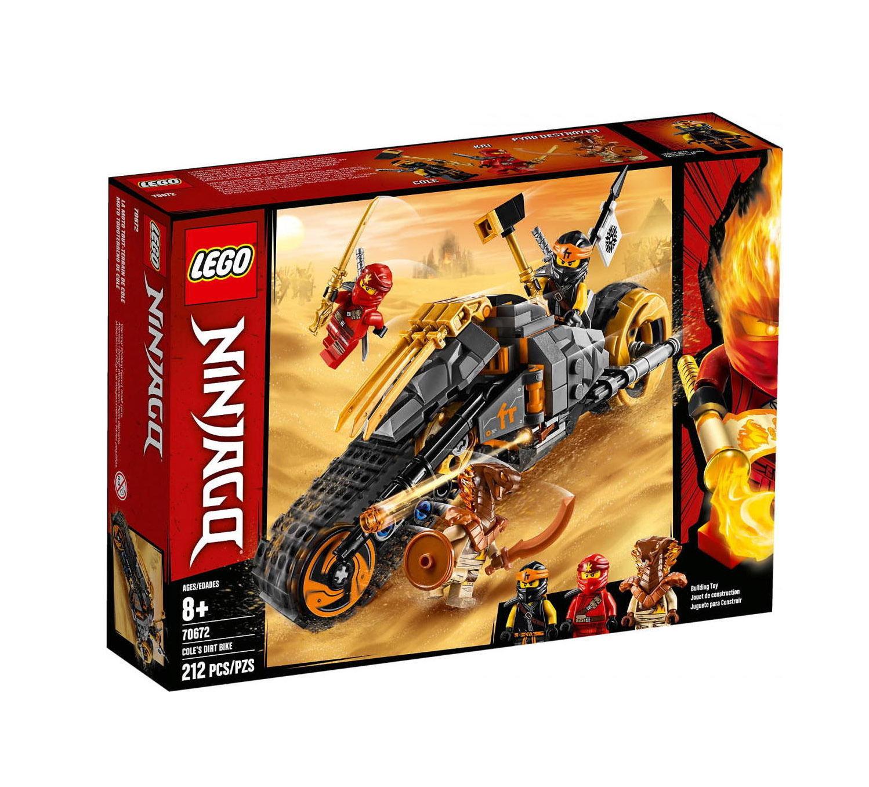 Lego Ninjago: Cole's Dirt Bike 70672