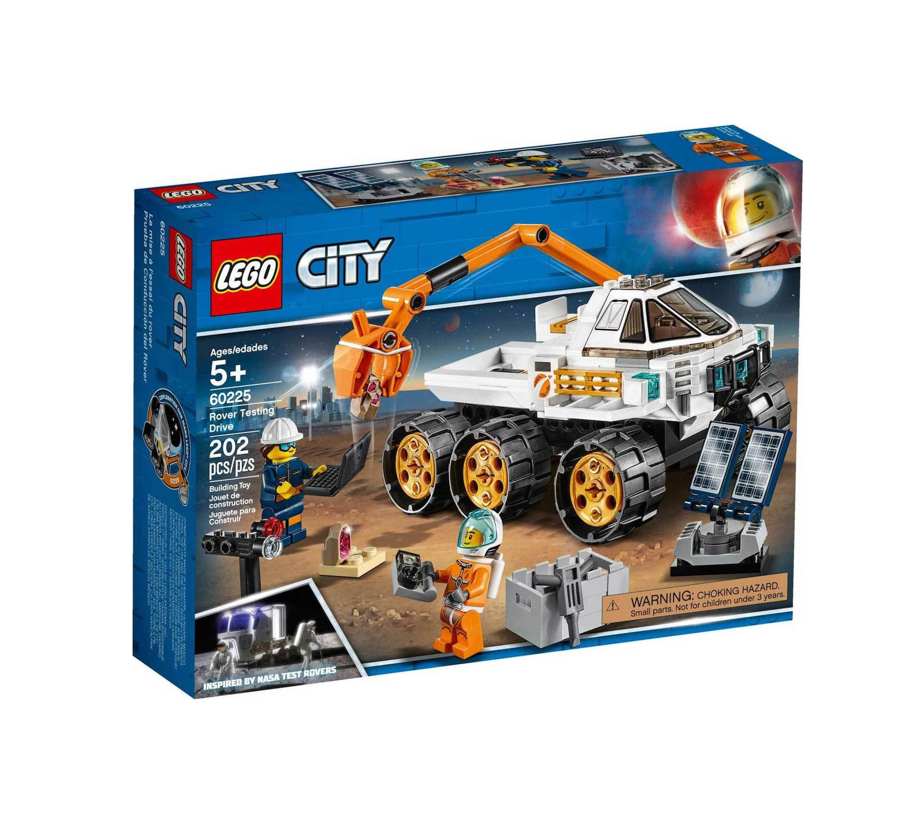 Lego City: Rover Testing Drive 60225