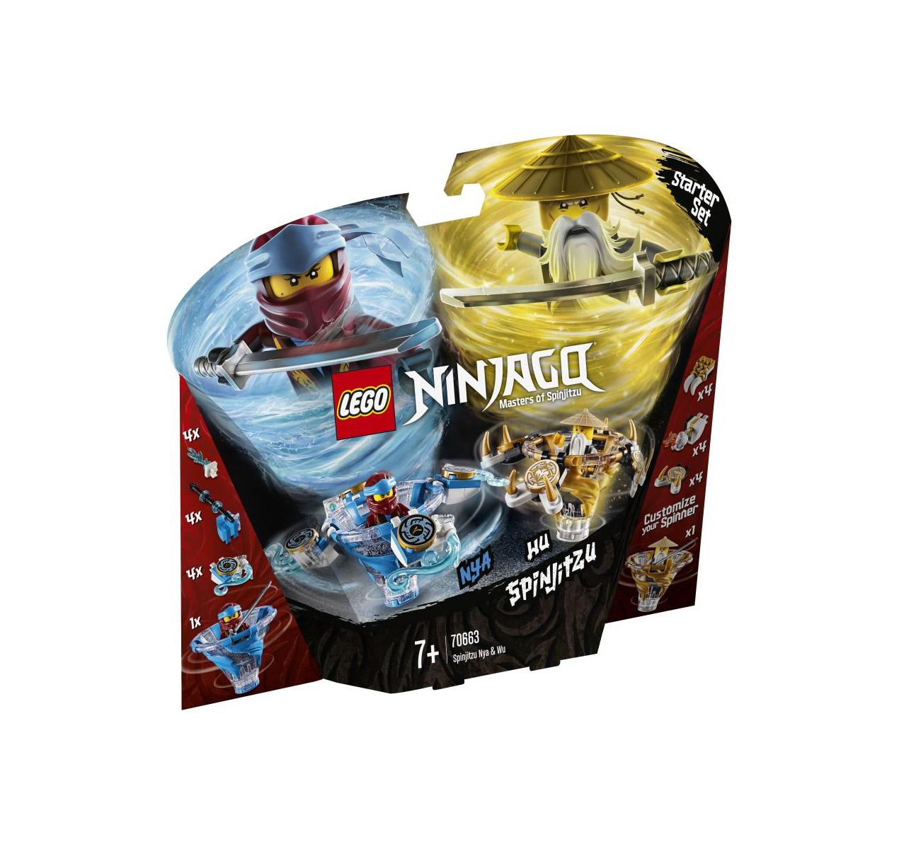 Lego Ninjago: Spinjitzu Nya & Wu 70663