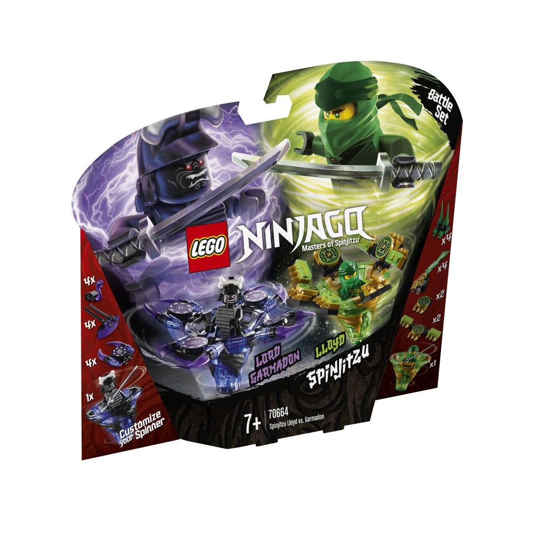 Lego Ninjago: Spinjitzu Lloyd vs Garmadon 70664