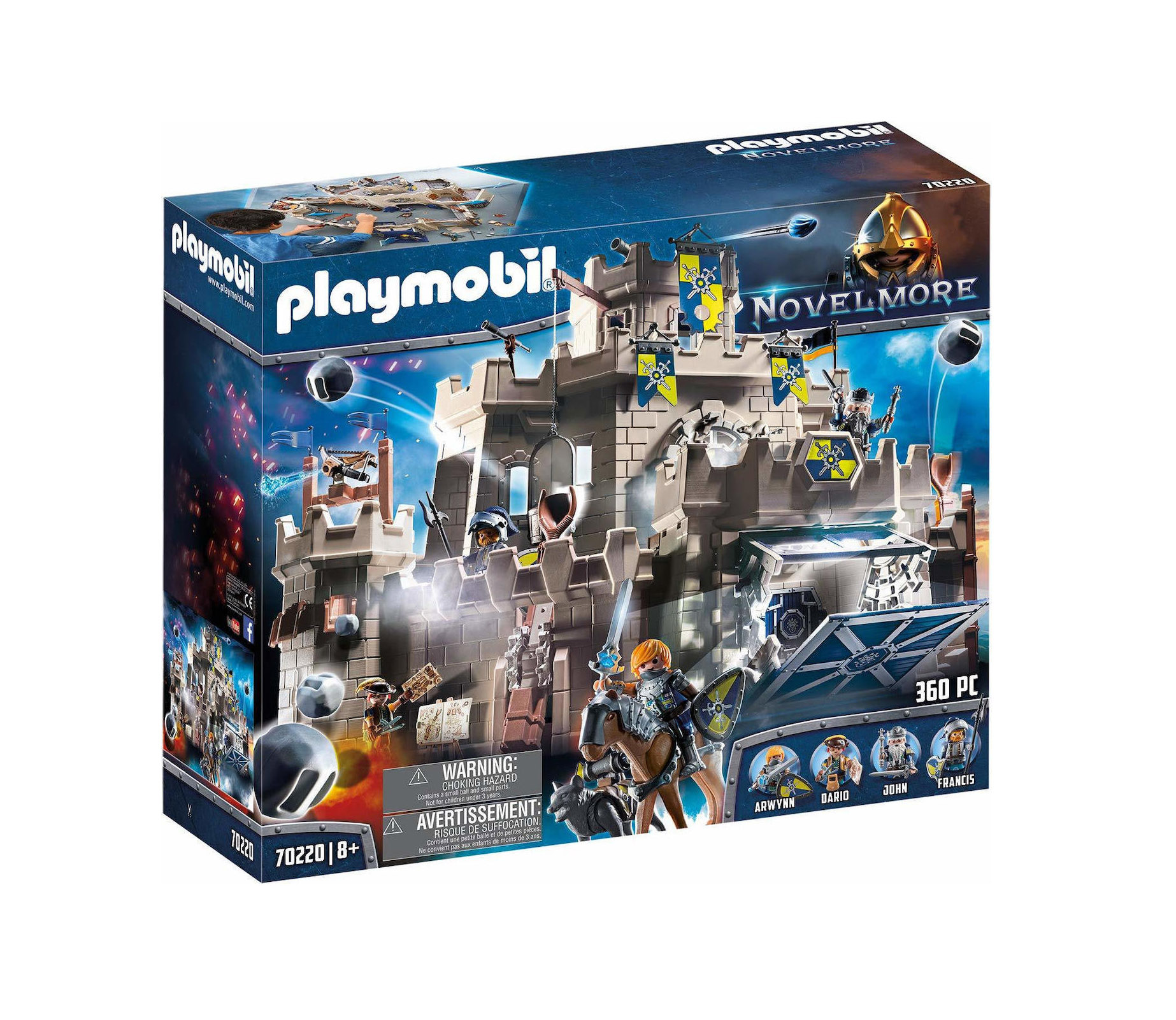 Playmobil Novel More: Big Castle of the Knights 70220