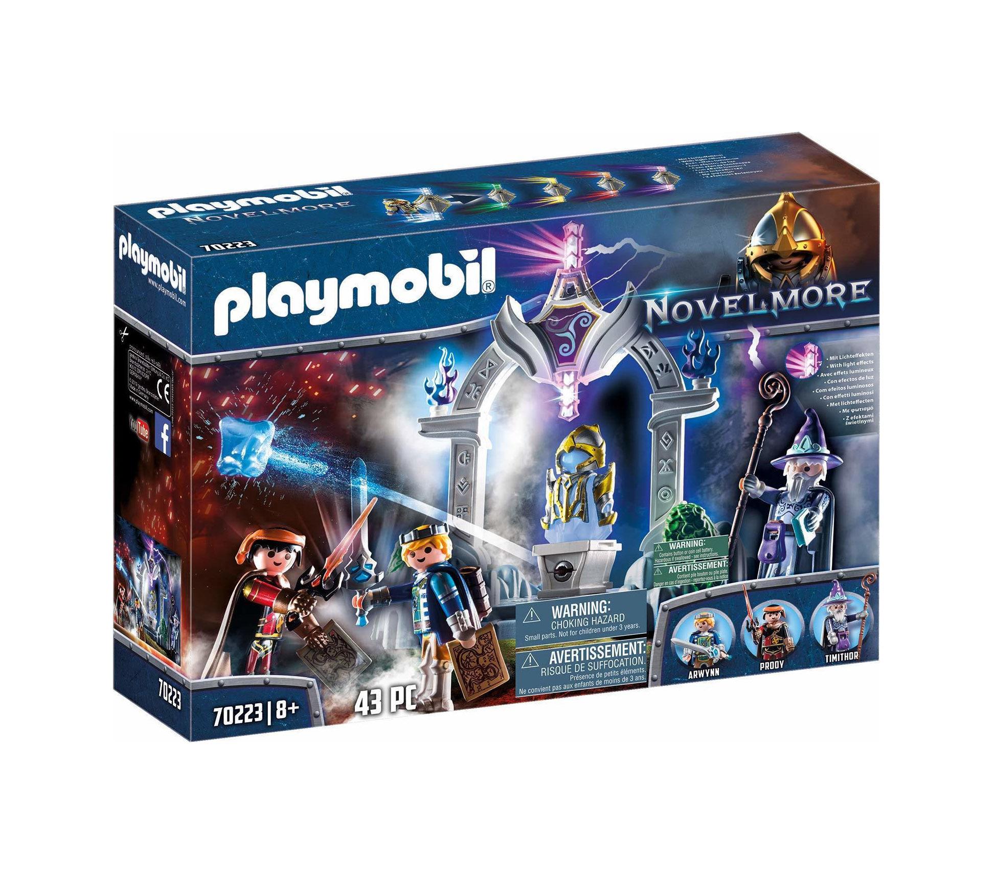 Playmobil Novel More: Shrine of Magical Armor 70223