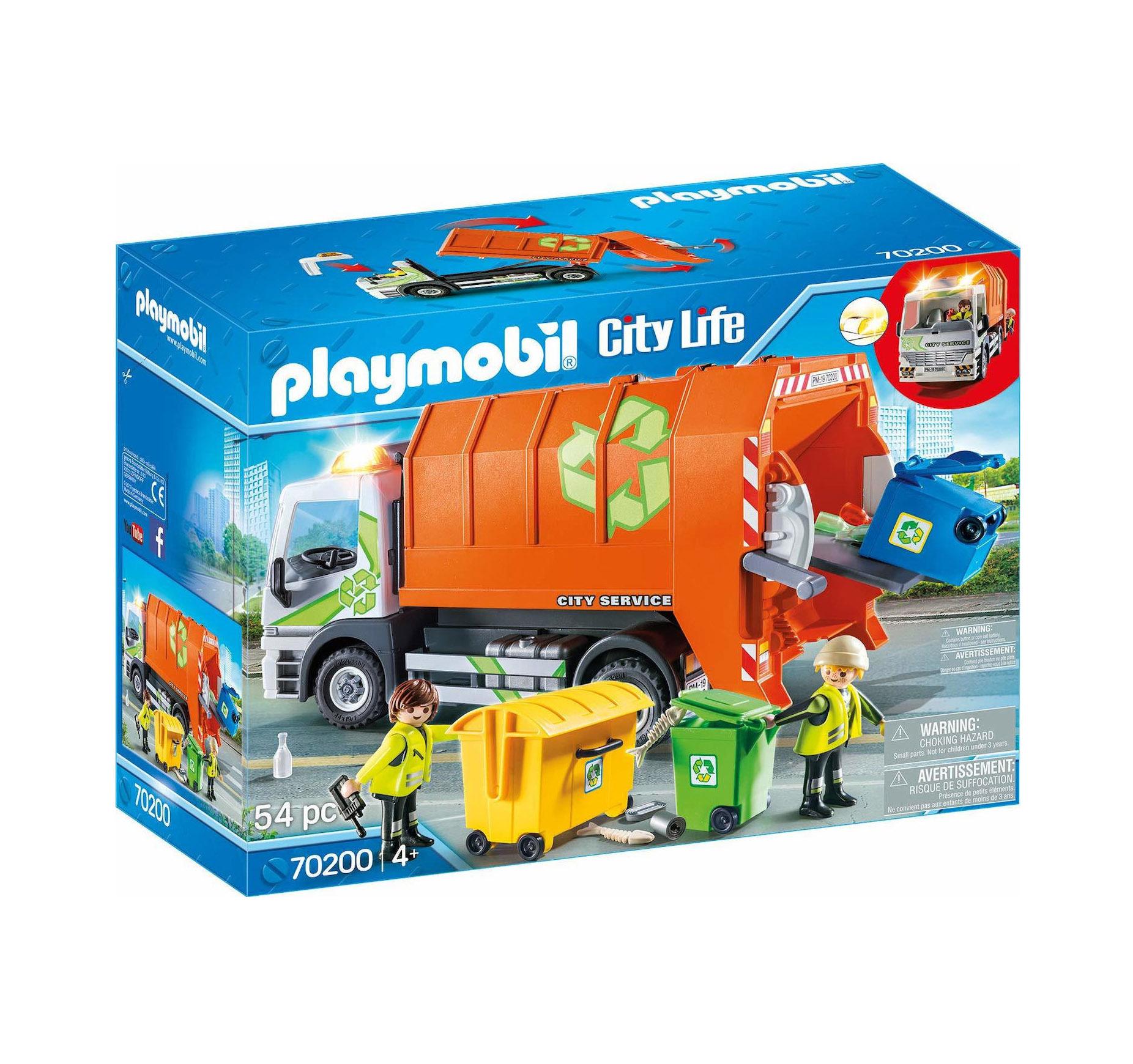 Playmobil City Life: Recycling Truck 70200