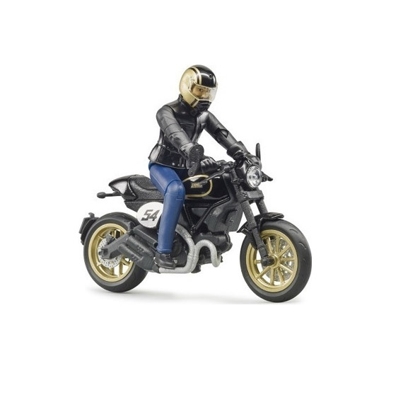 Bruder Scrambler Ducati Cafe Racer 63050