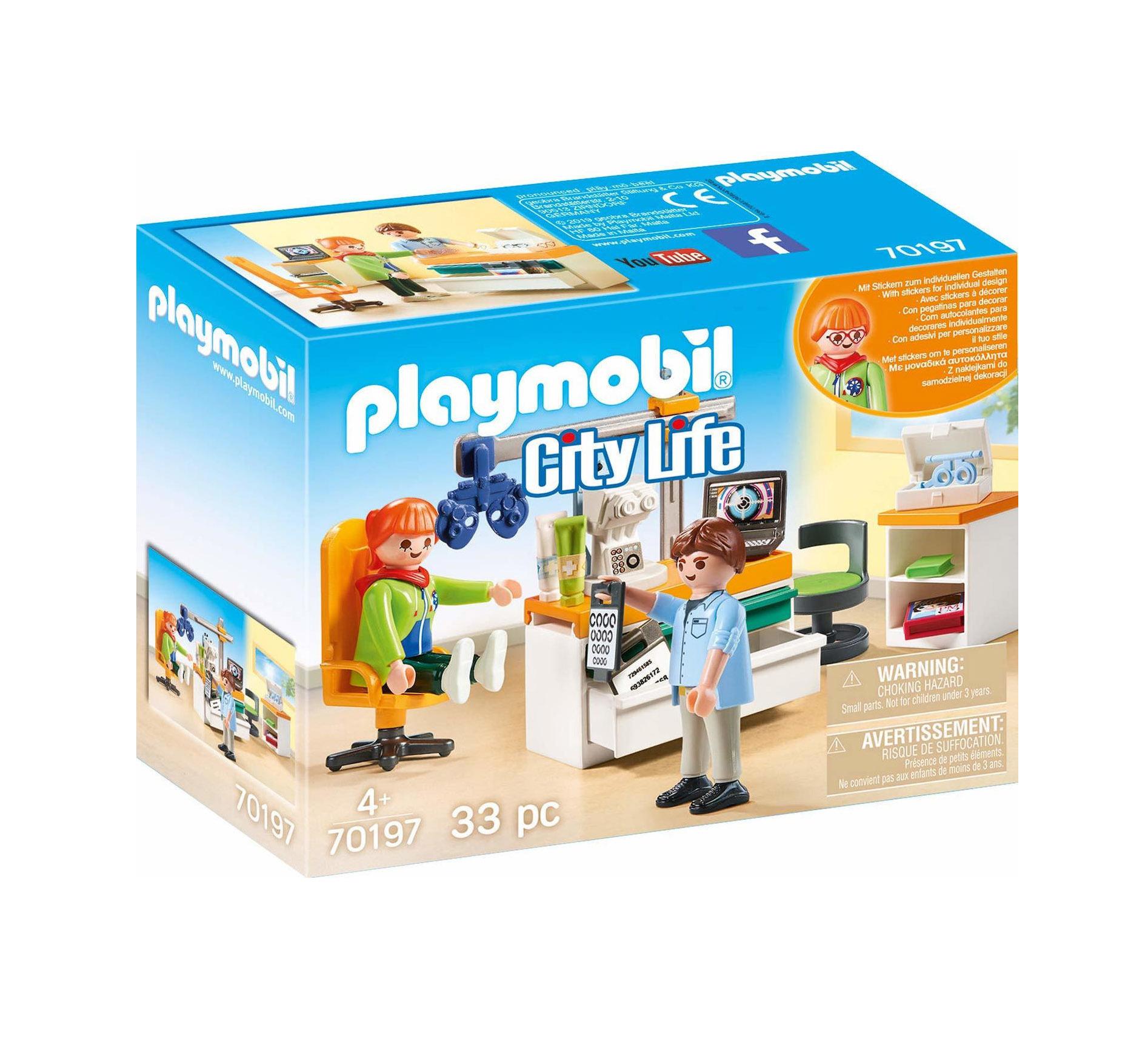 Playmobil City Life: Ophthalmologis 70197