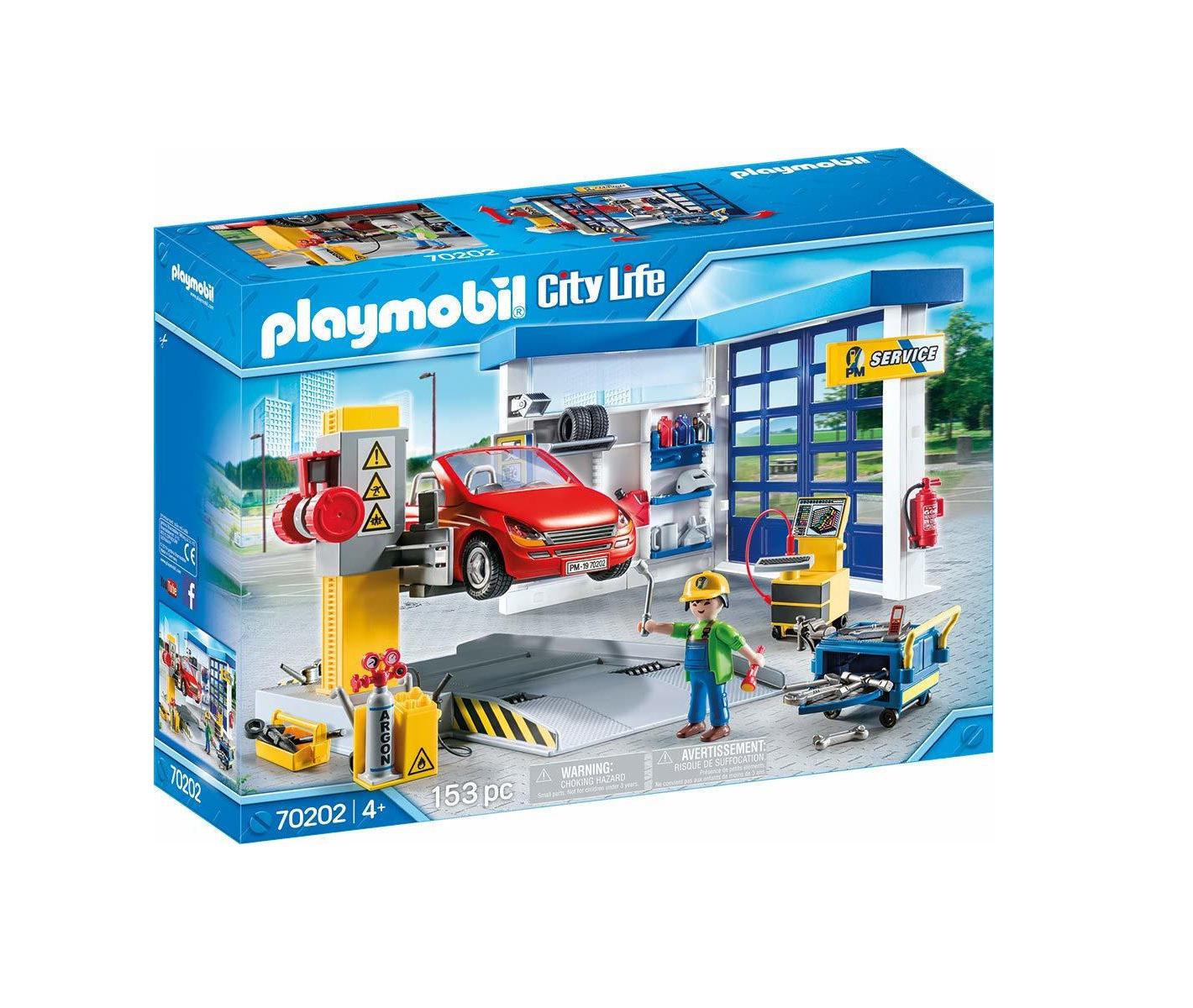 Playmobil City Life: Car Repair Garage  70202