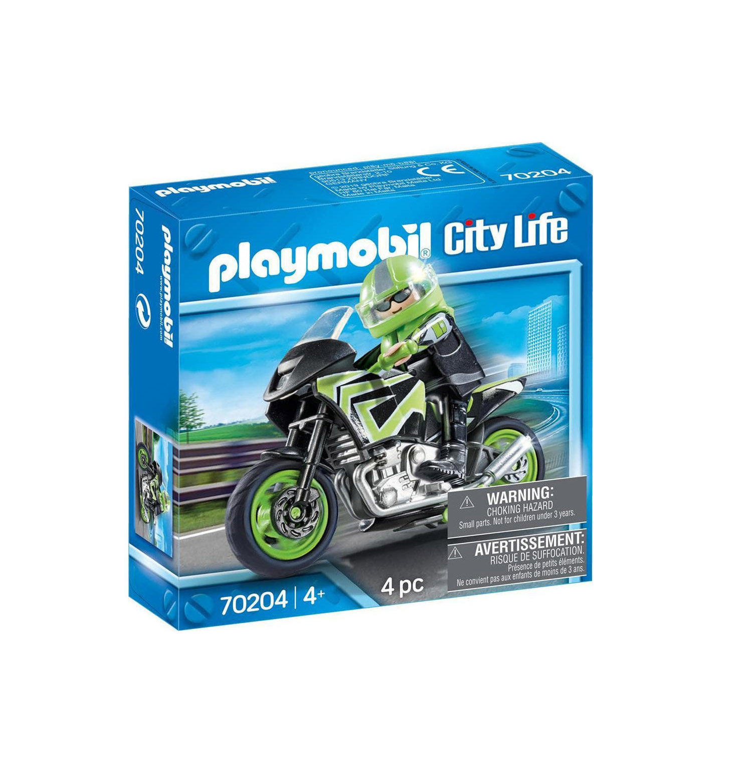 Playmobil City Life: Motorcycle with Ride 70204
