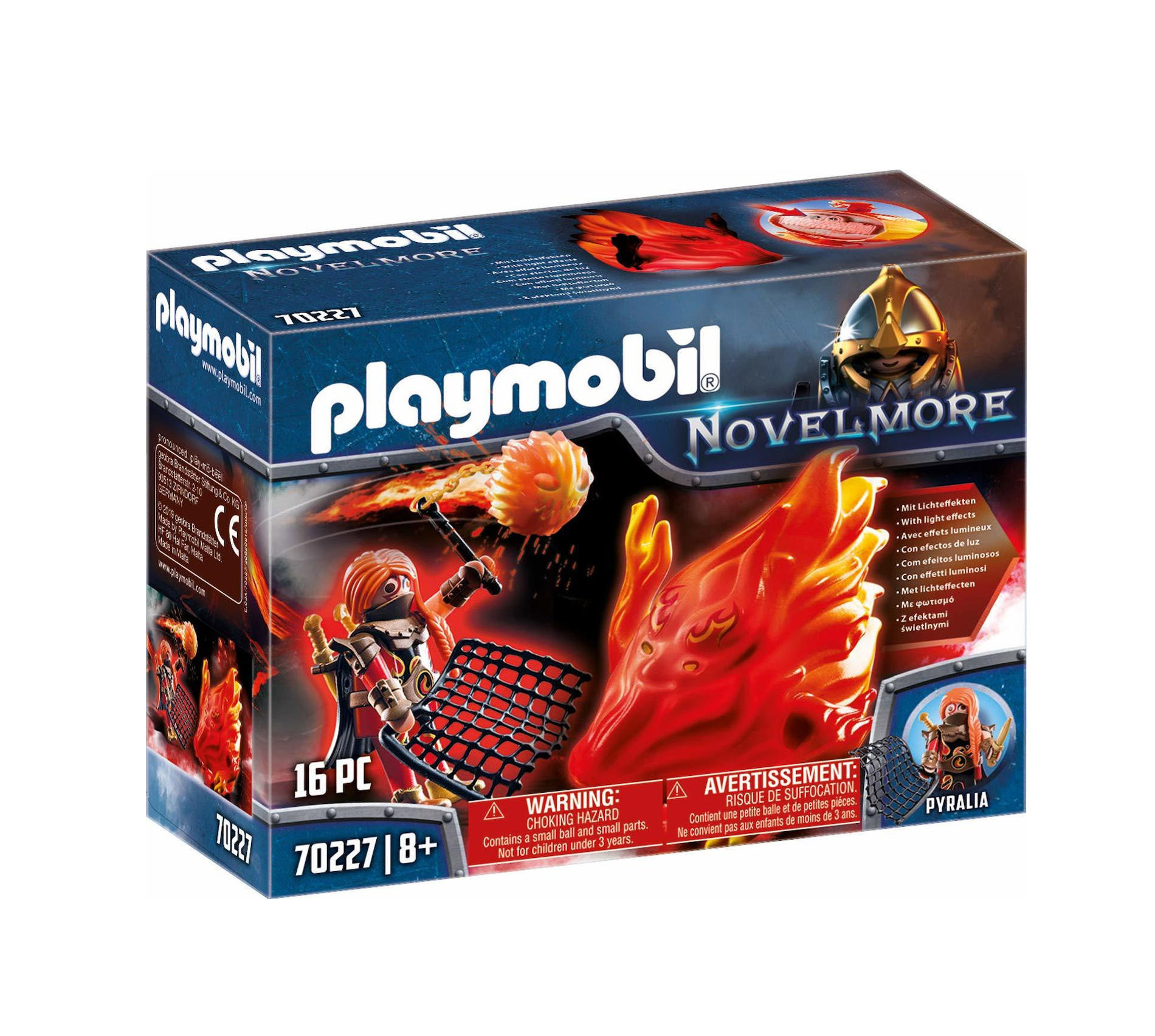 Playmobil Fire Spirit And The Guardian Of Fire 70227