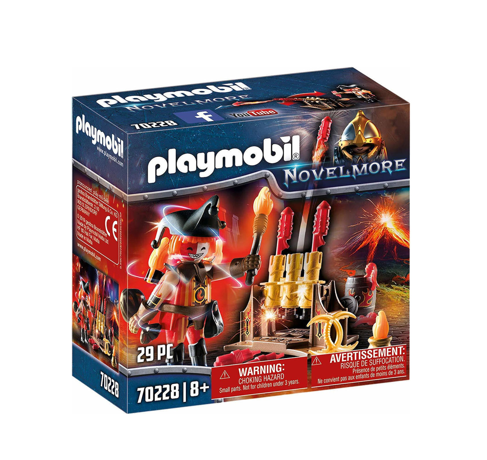 Playmobil Novel More: Fireworks Cannon and Fire Master 70228