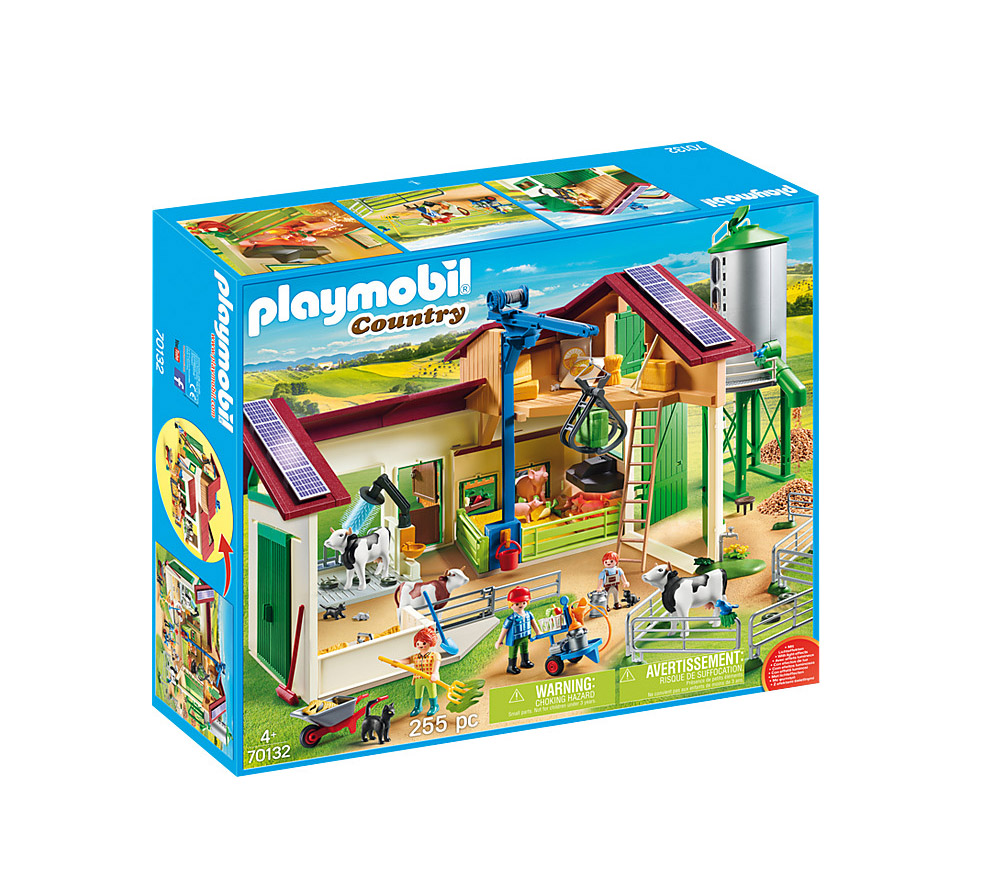 Playmobil Country: Large Farm With Silo 70132
