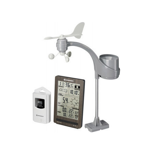 Bresser Weather Center ClimaTemp 7002410 FW