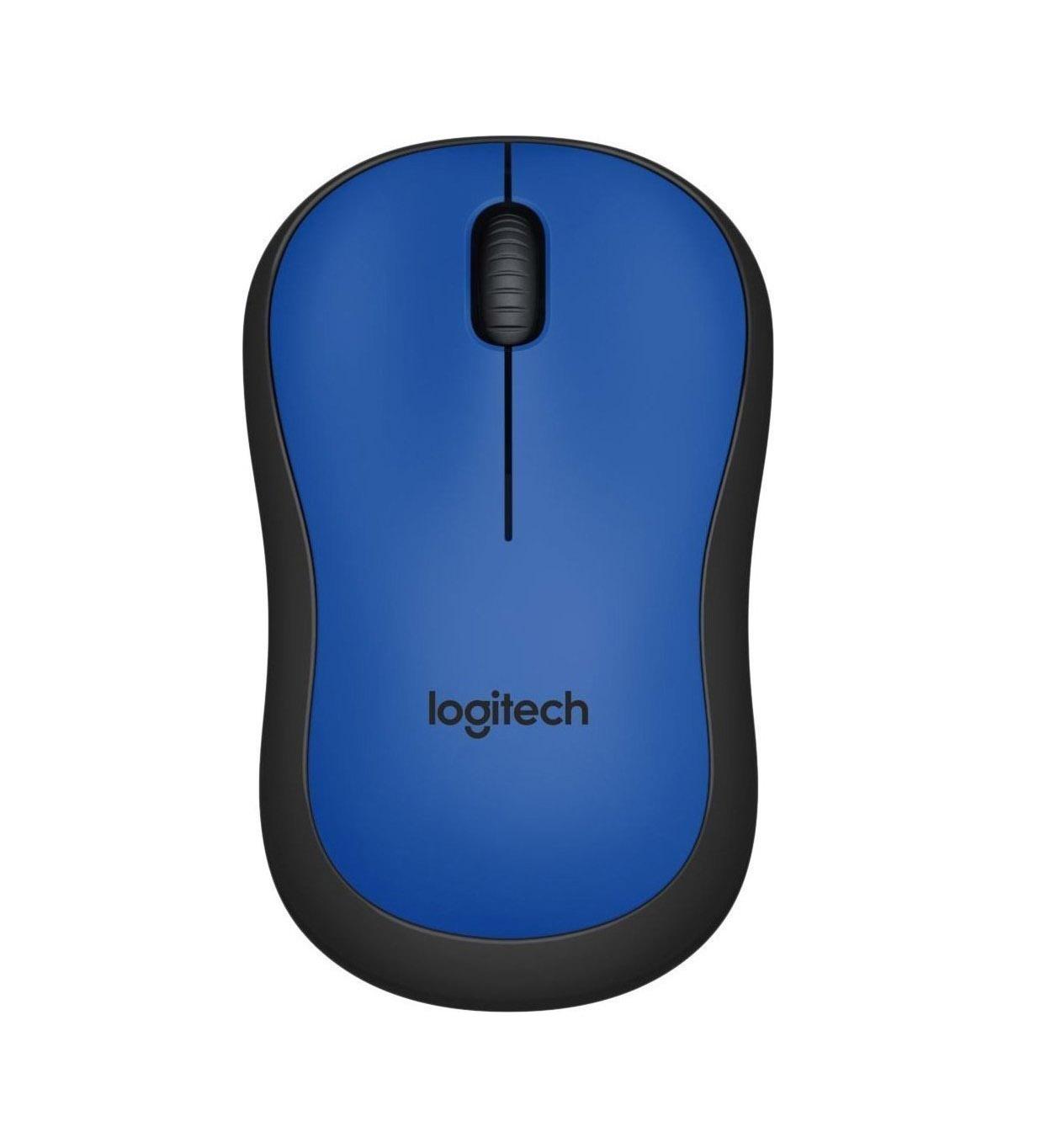 Logitech M220 Silent Ασύρματο Ποντίκι Blue