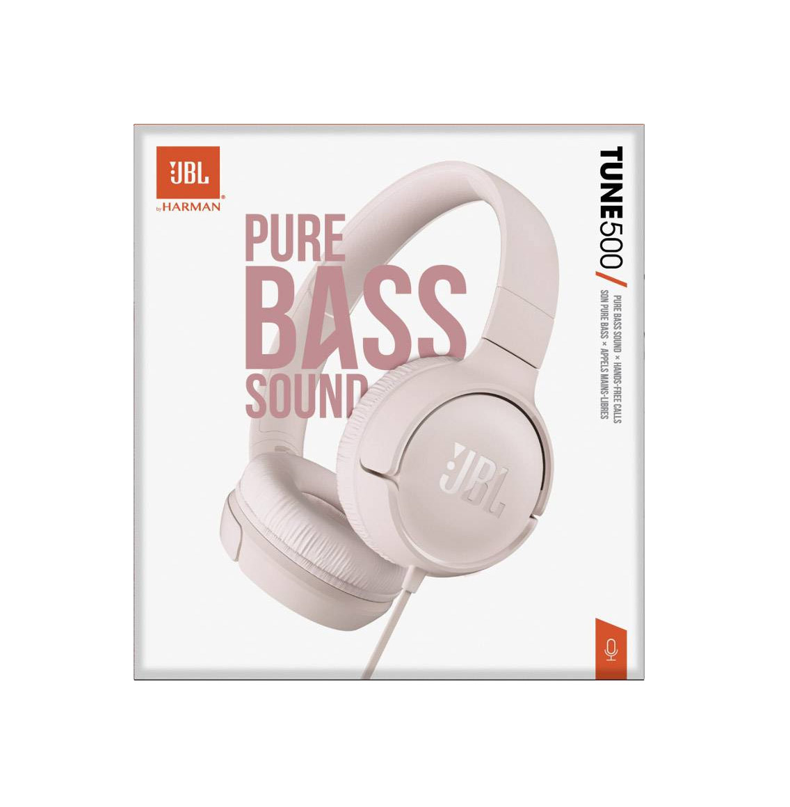 JBL Tune 500 Headphones Pink
