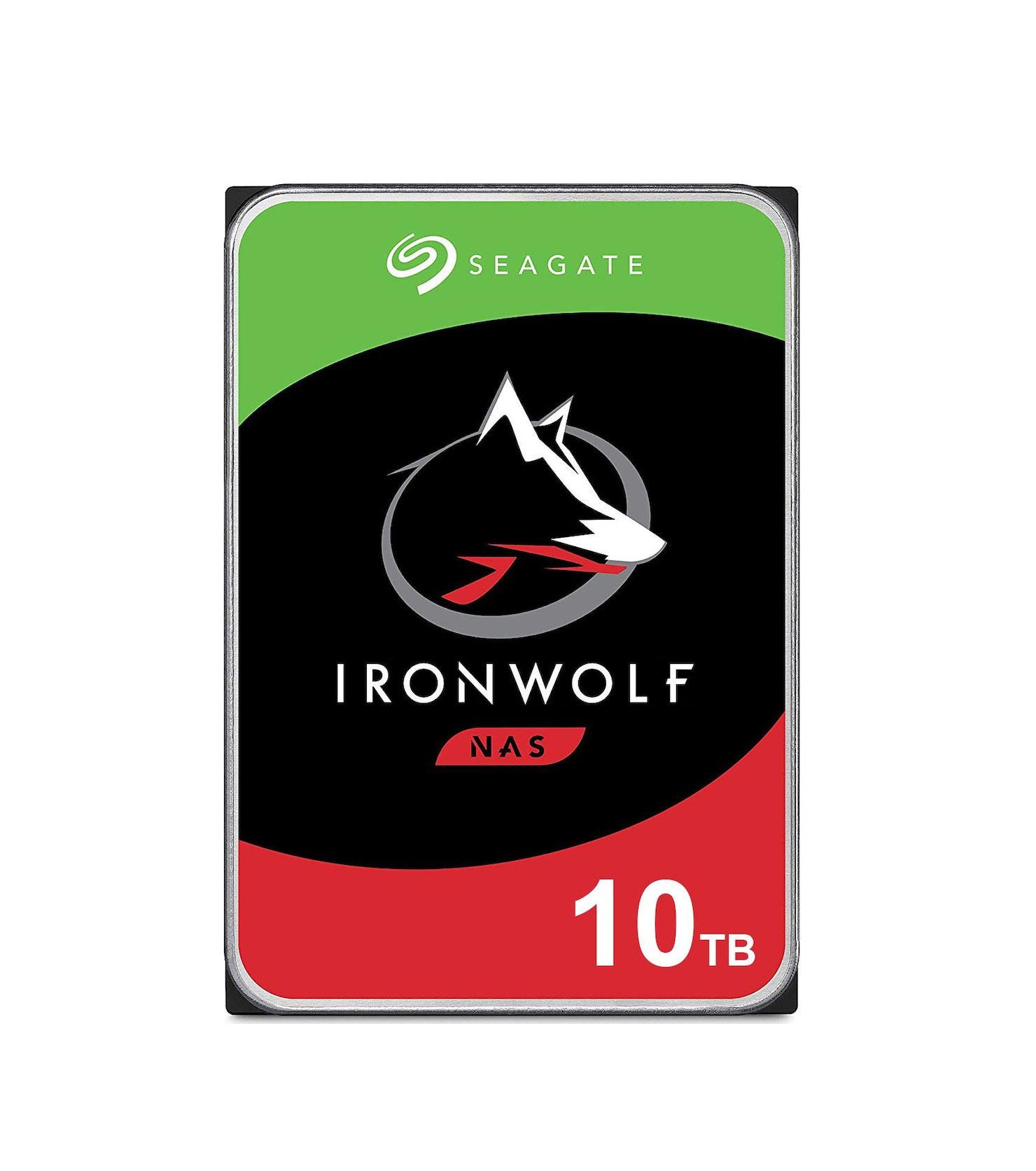 Seagate Ironwolf 10TB ST10000VN0008 Σκληρός Δίσκος 3.5'' Sata 3