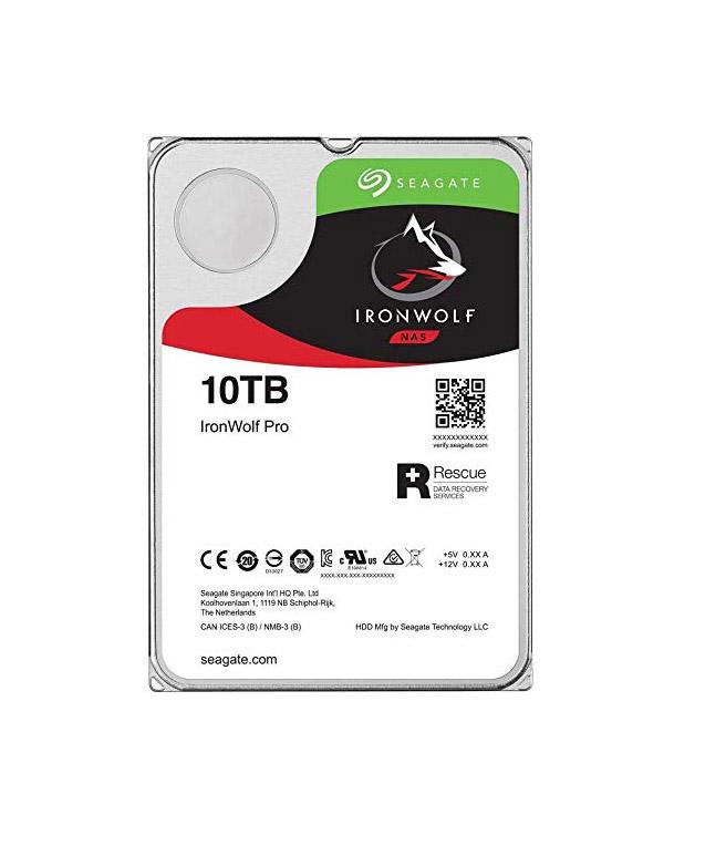 Seagate Ironwolf Pro 10TB ST10000NE0008 Σκληρός Δίσκος 3.5'' Sata 3