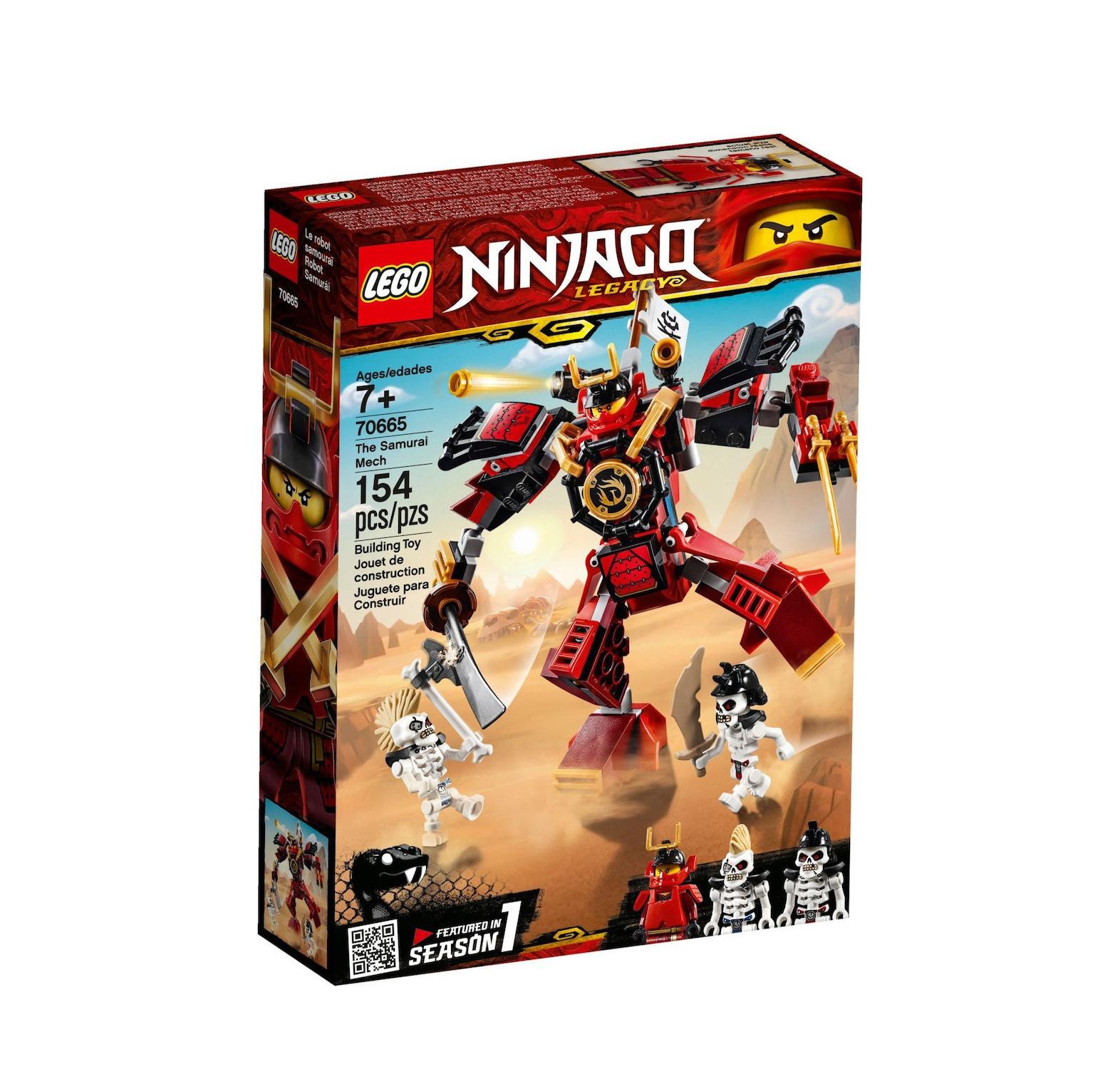 Lego Ninjago: The Samurai Mech 70665