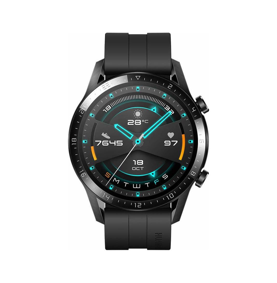 Huawei Watch GT 2 Sport 46mm Black (55024474) Πληρωμή έως 24 δόσεις*