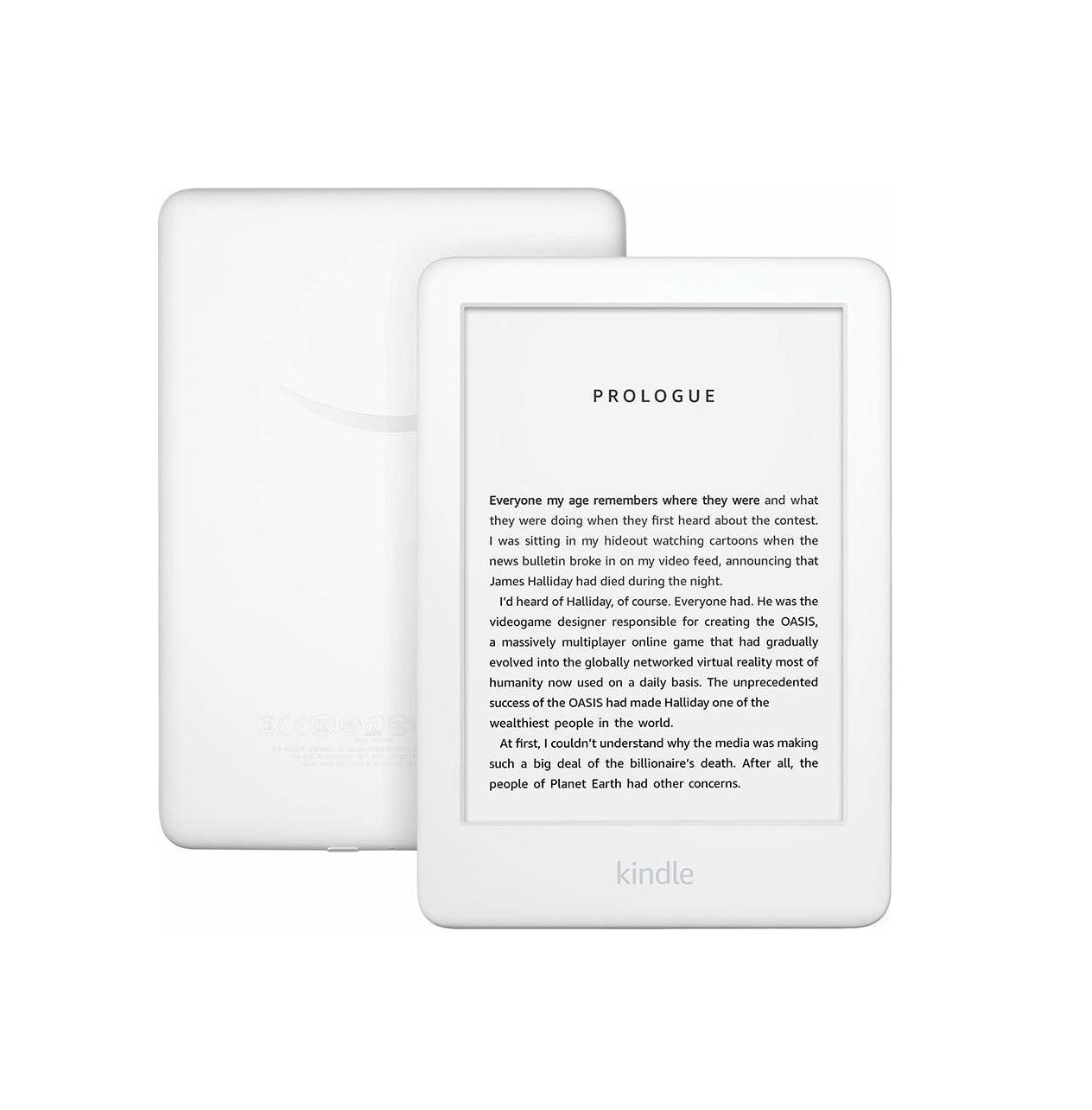 "Amazon Kindle 6"" 2019 WiFi B07FPX2YDK Ebook Reader White"