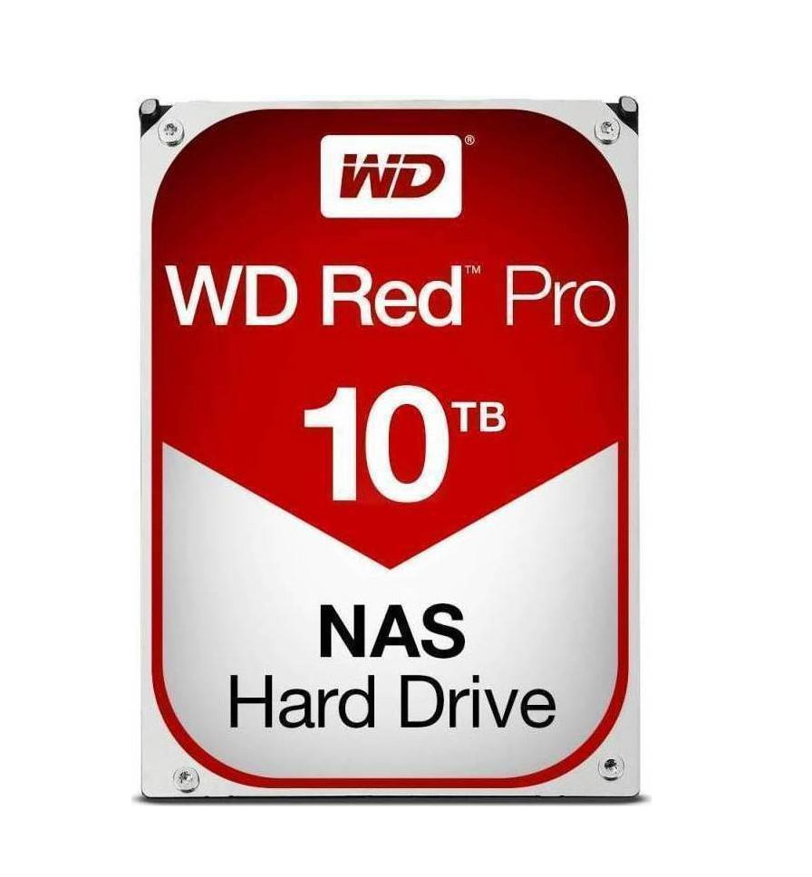 Western Digital Red Pro NAS 10TB WD101KFBX Σκληρός Δίσκος 3.5'' Sata 3