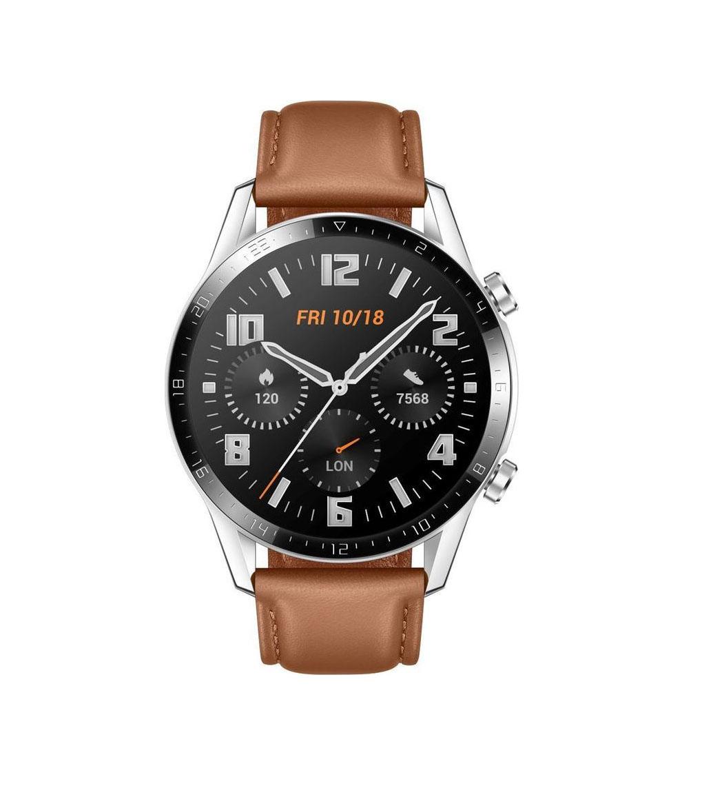 Huawei Watch GT 2 Classic 46mm Brown Πληρωμή έως 24 δόσεις