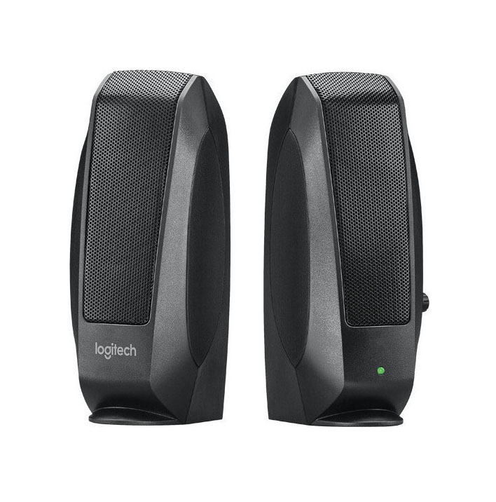 Logitech S120 Speaker System 2.0 980-000010 Ηχεία Υπολογιστή