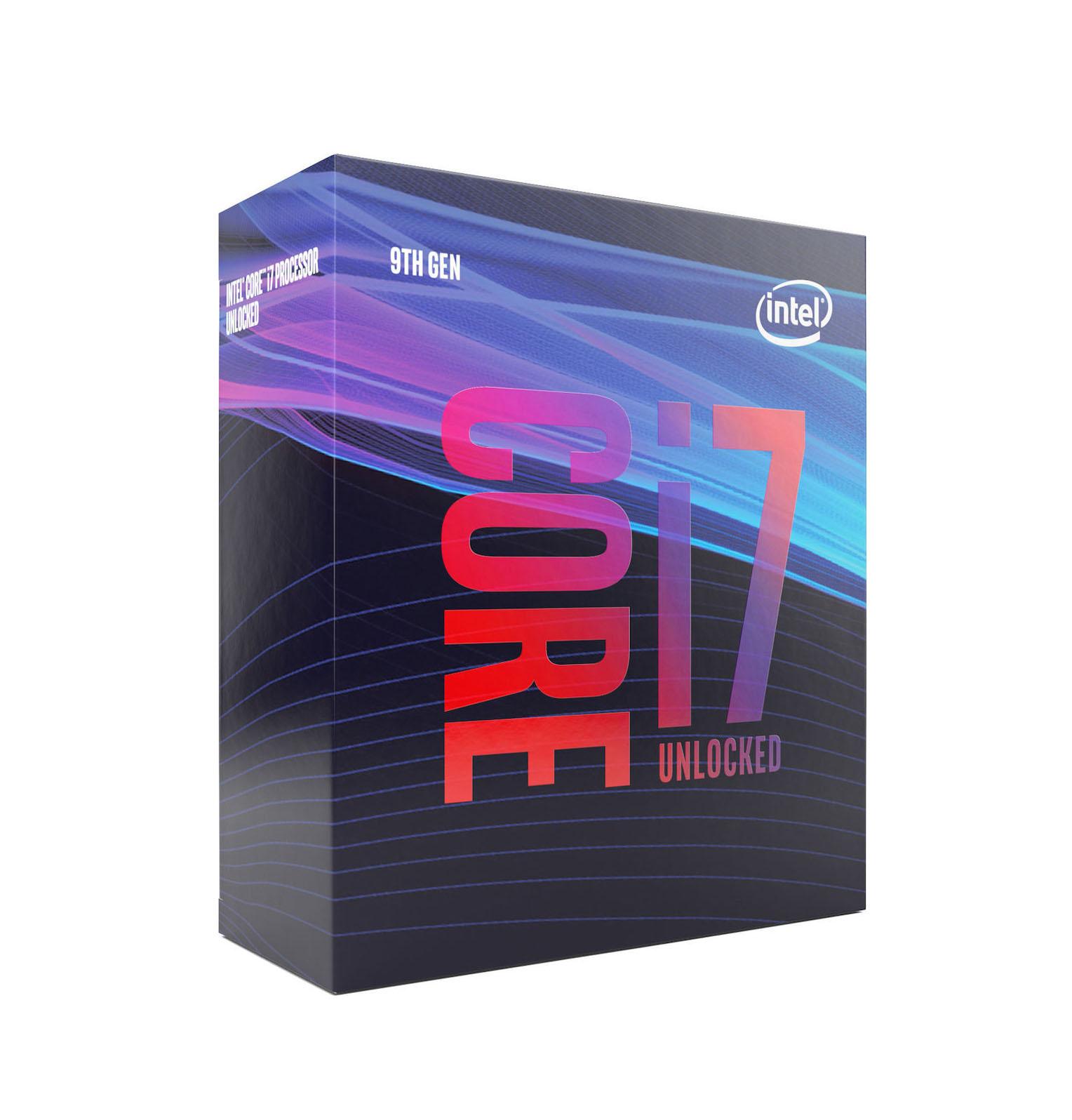 Intel Core i7-9700F Box Επεξεργαστής (BX80684I79700F) Πληρωμή έως 24 δόσεις