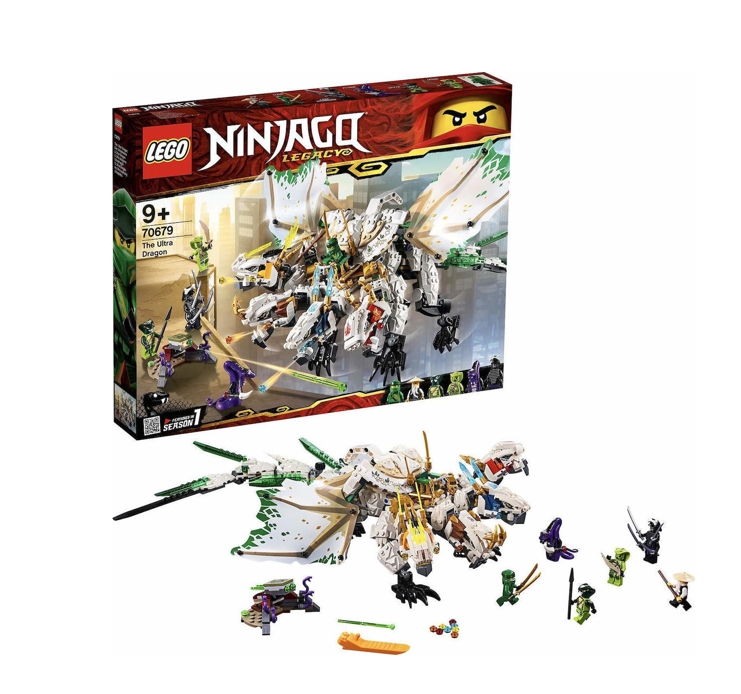 Lego Ninjago: The Ultra Dragon 70679