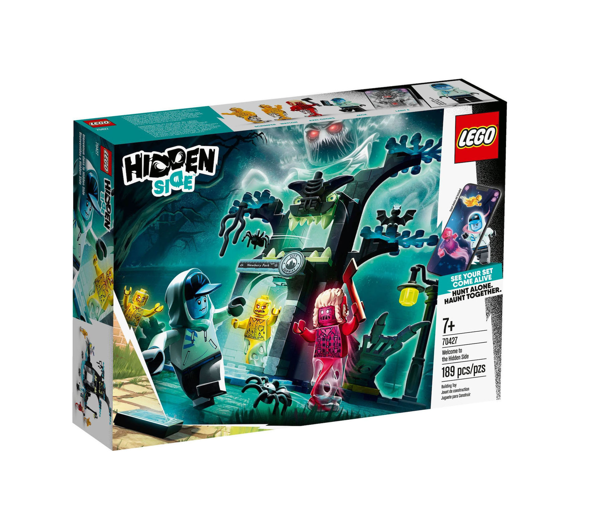 Lego Hidden Side: Welcome to the Hidden Side 70427