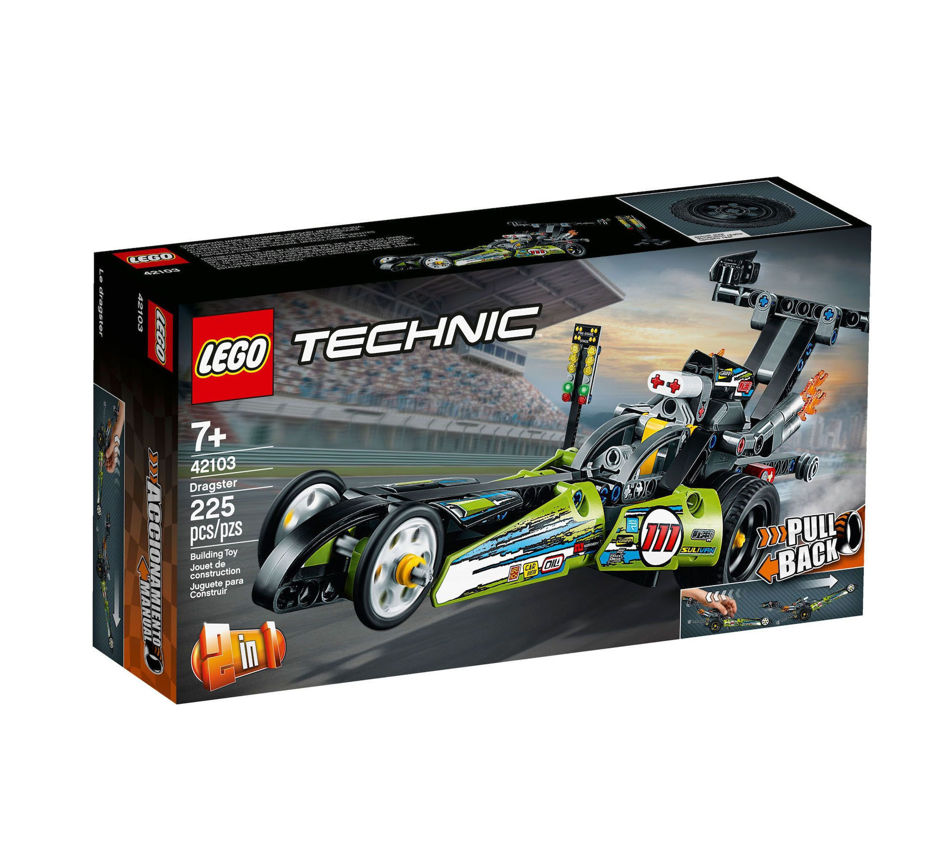 Lego Technic: Dragster 42103