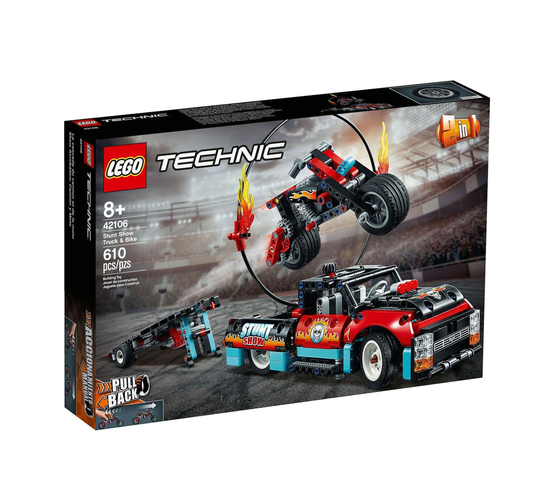 Lego Technic: Stunt Show Truck & Bike 42106