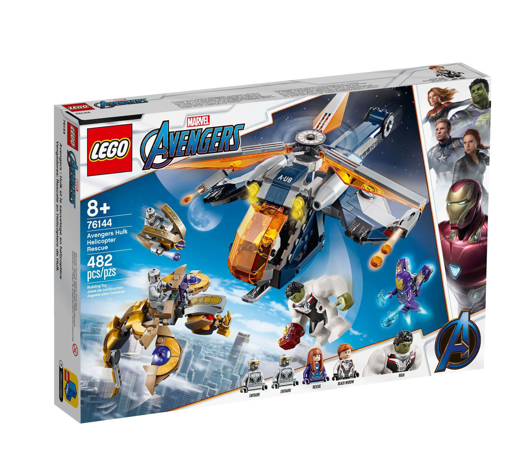 Lego Super Heroes: Avengers Hulk Helicopter Rescue 76144