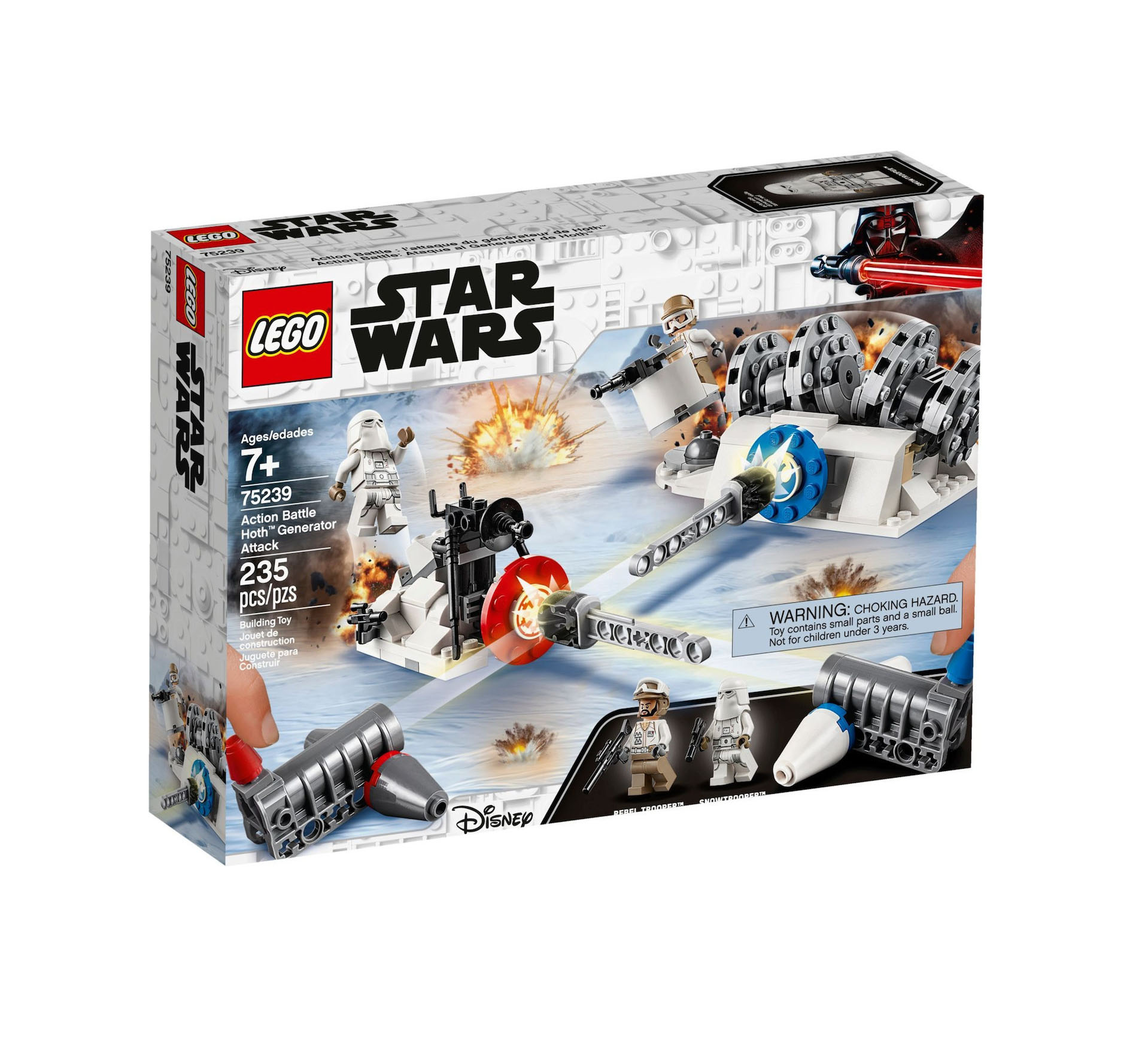 Lego Star Wars: Action Battle Hot Generator Attack 75239