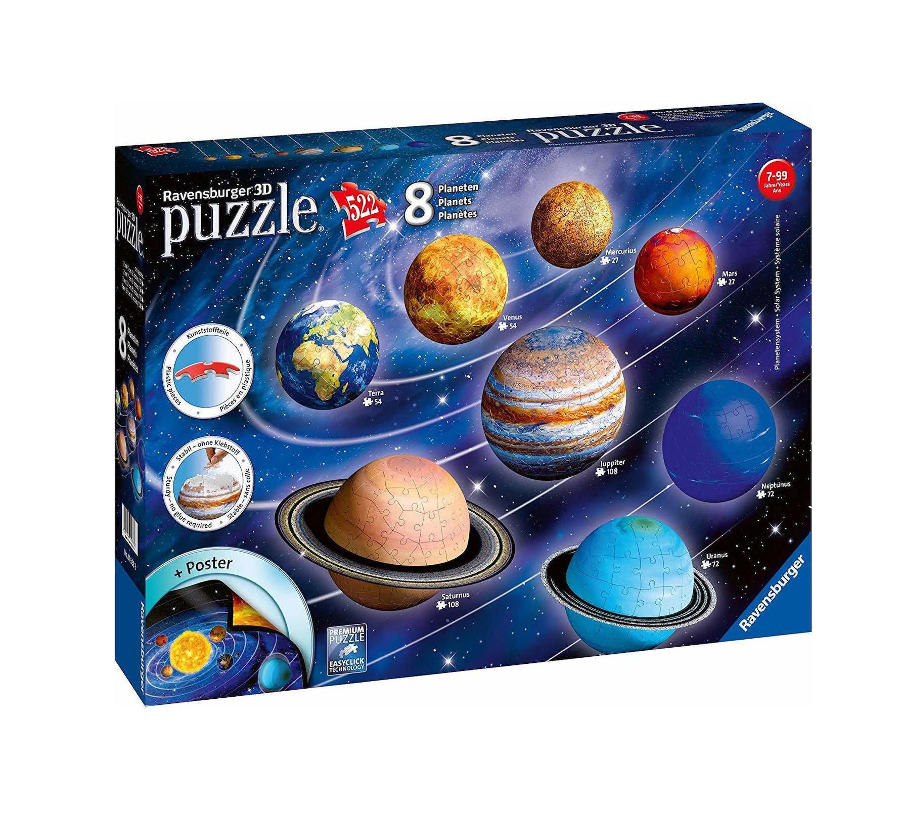Planetary Solar System 522pcs Ravensburge 116683